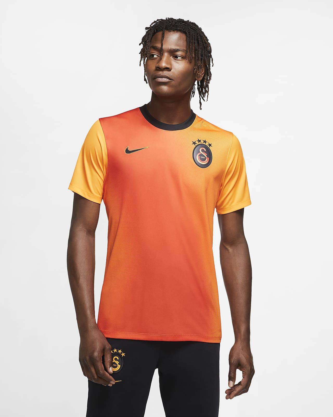 Camiseta de fútbol de manga corta de local para hombre alternativa del Galatasaray 2020/21