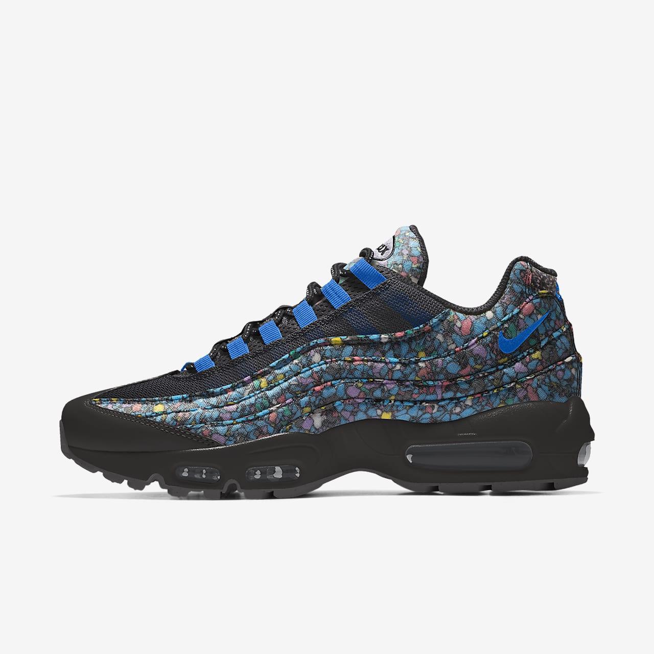 Calzado Lifestyle para mujer personalizado Nike Air Max 95 Unlocked By You