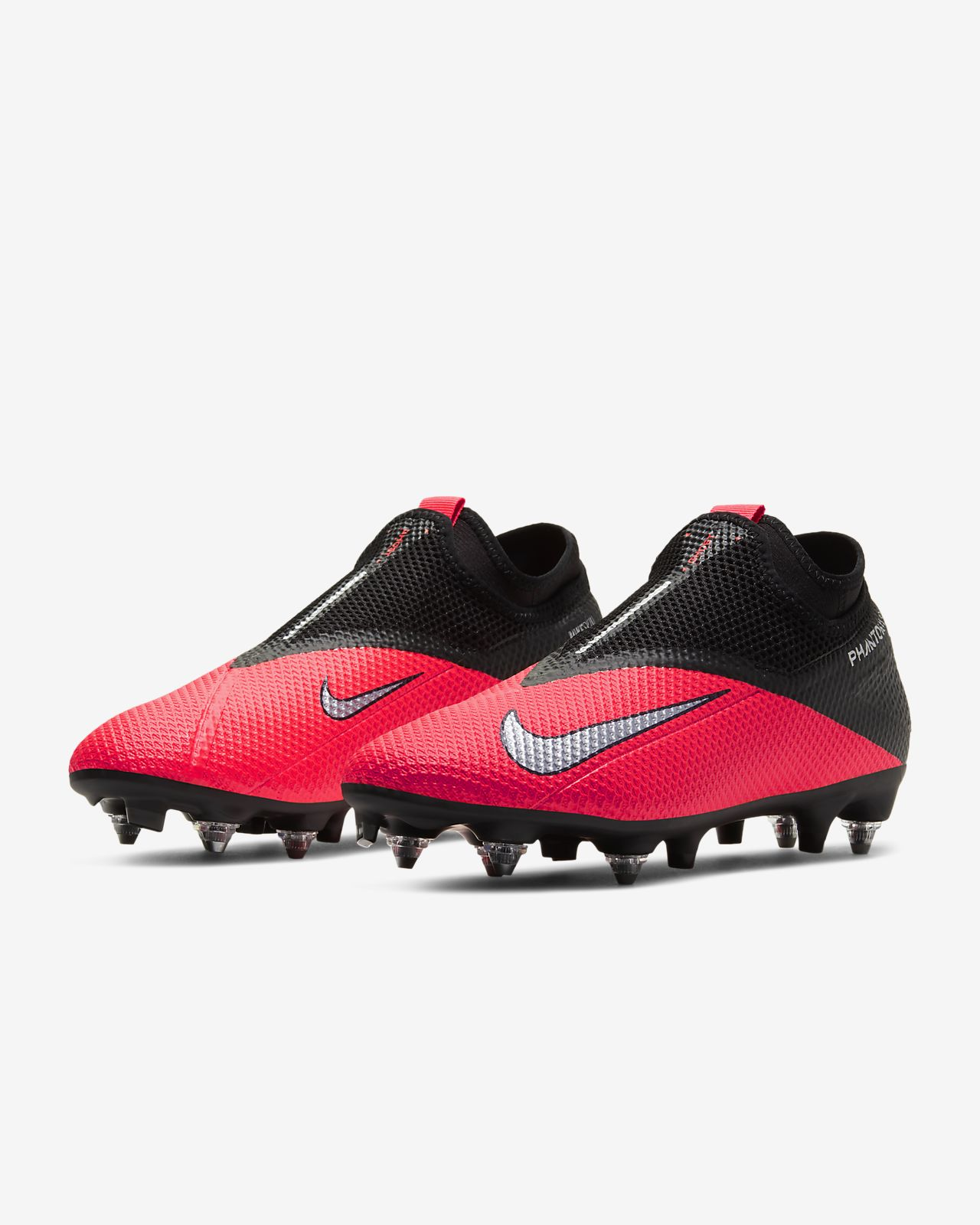 Chaussure de football à crampons pour terrain gras Nike Phantom Vision 2 Academy Dynamic Fit SG PRO Anti Clog Traction