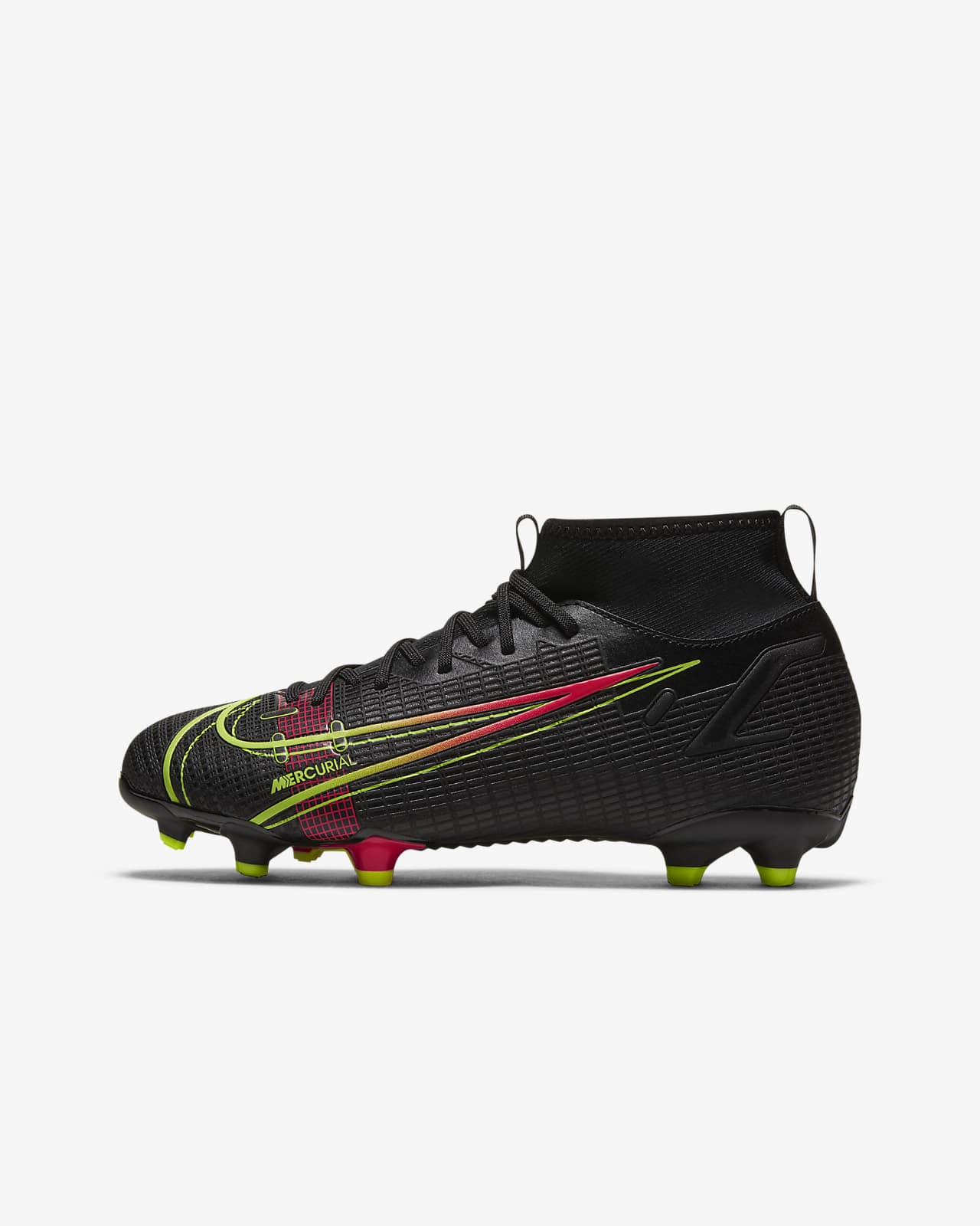 Nike Jr. Mercurial Superfly 8 Academy MG Voetbalschoen voor kleuters/kids (meerdere ondergronden)