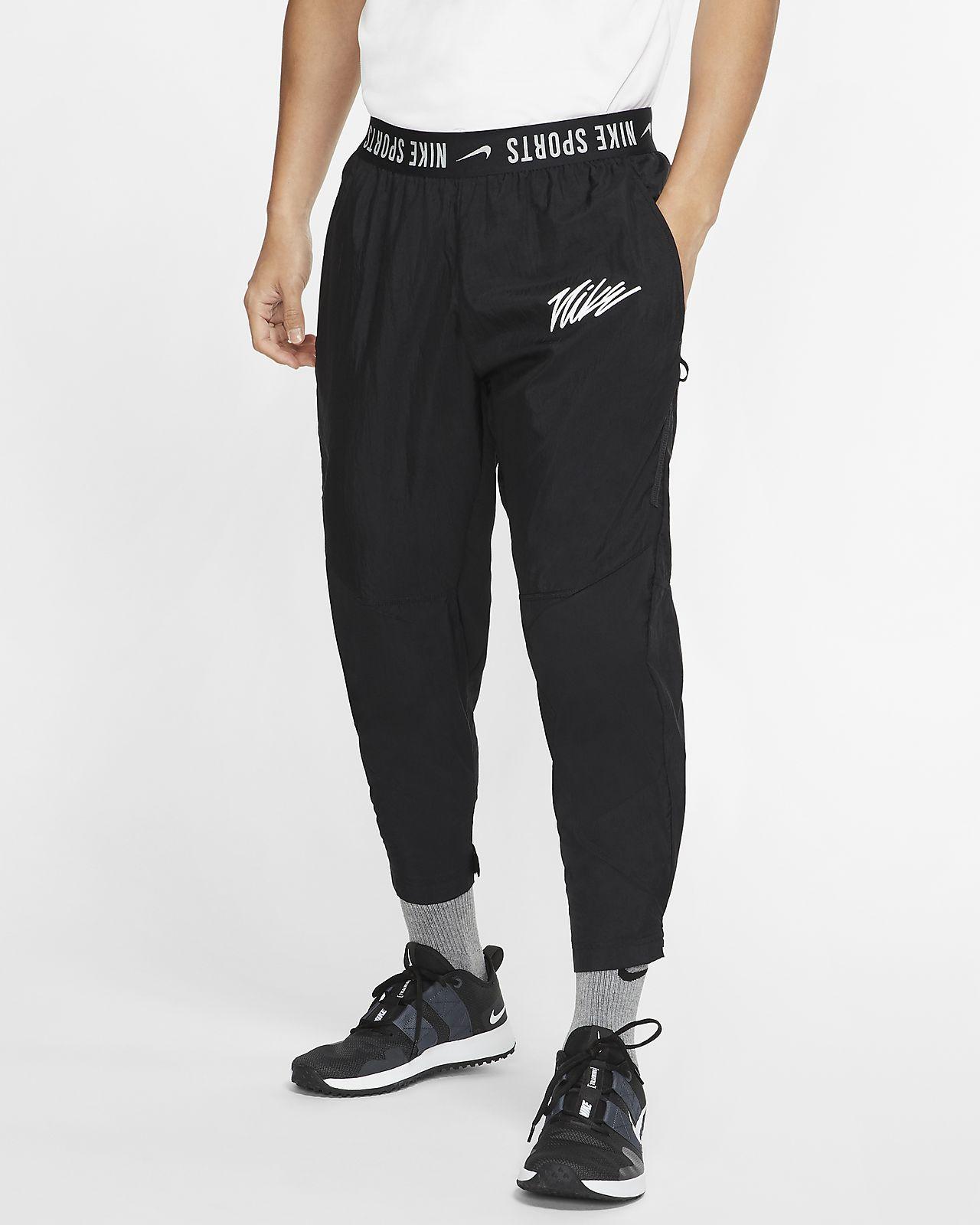 Męskie spodnie treningowe z tkaniny Nike