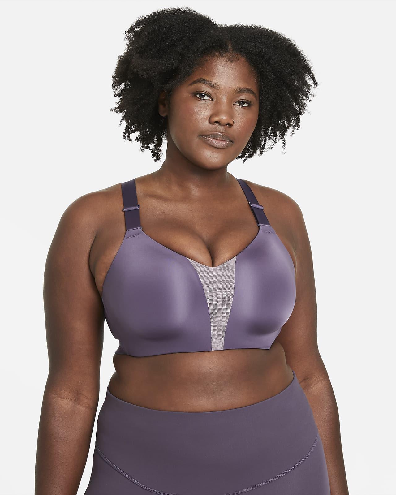 Bra deportivo de alta sujeción para mujer talla grande Nike Dri-FIT Rival