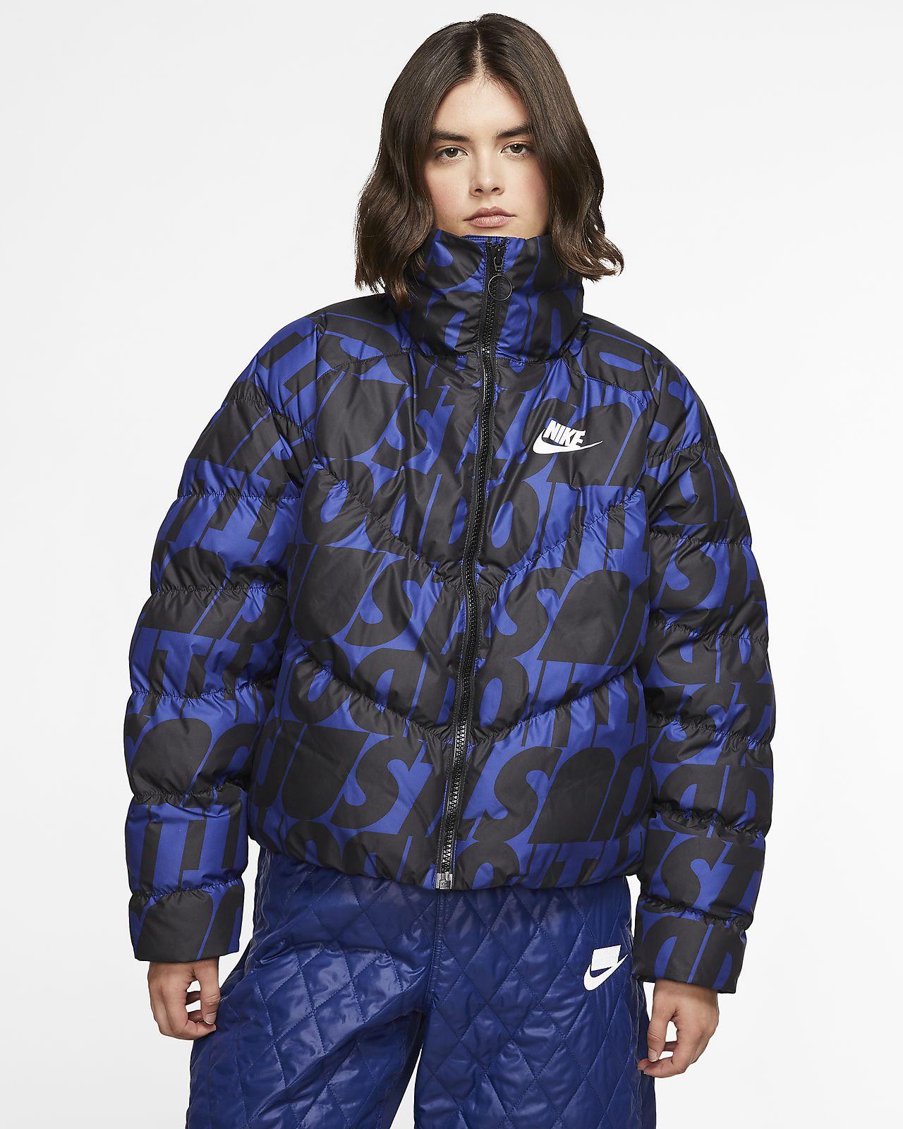 Nike Sportswear Synthetic-Fill JDI Printed 女子夹克