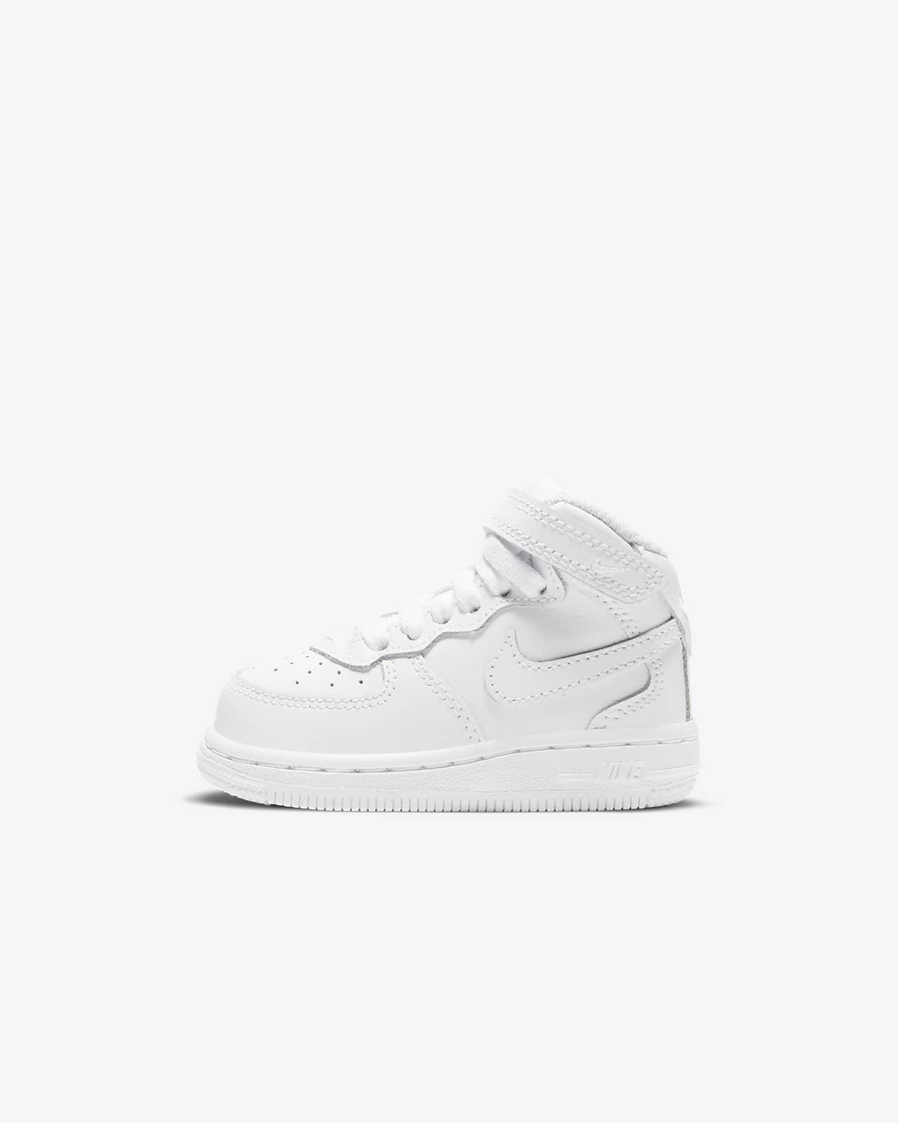Nike Force 1 Mid-sko til babyer/småbørn