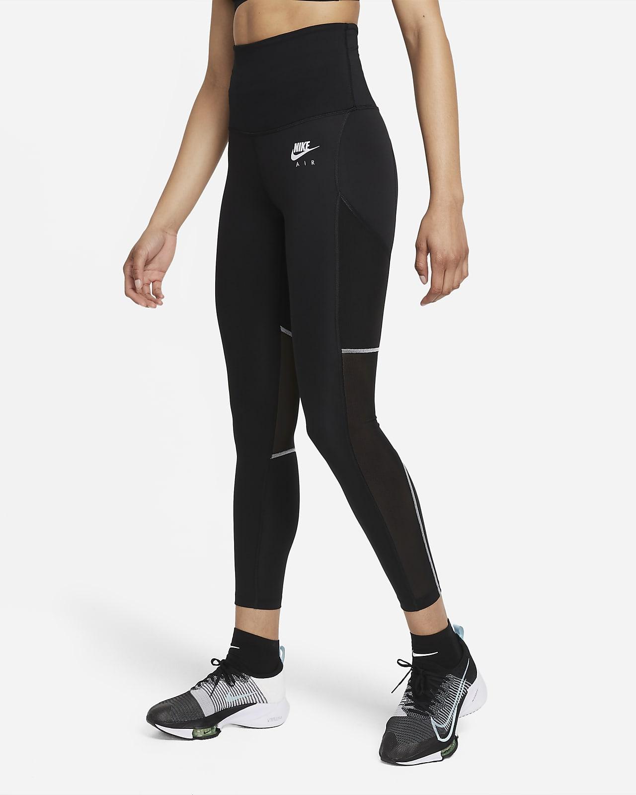 Leggings de running de 7/8 con cintura plegable para mujer Nike Air Dri-FIT