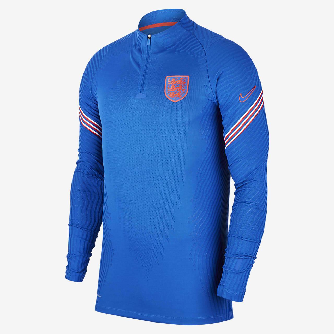 Męska treningowa koszulka piłkarska Nike VaporKnit Anglia Strike