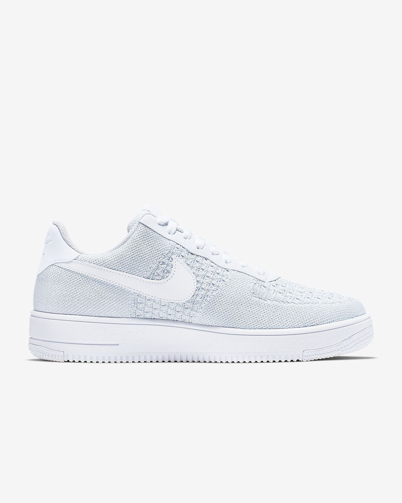 nike air force 1 flyknit homme blanche