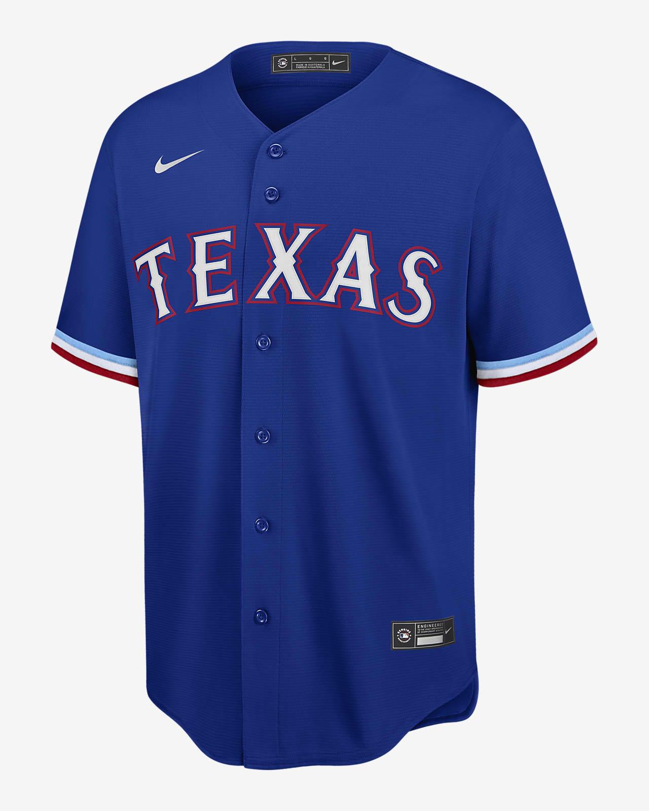 MLB Texas Rangers (Joey Gallo) Men's Replica Baseball Jersey