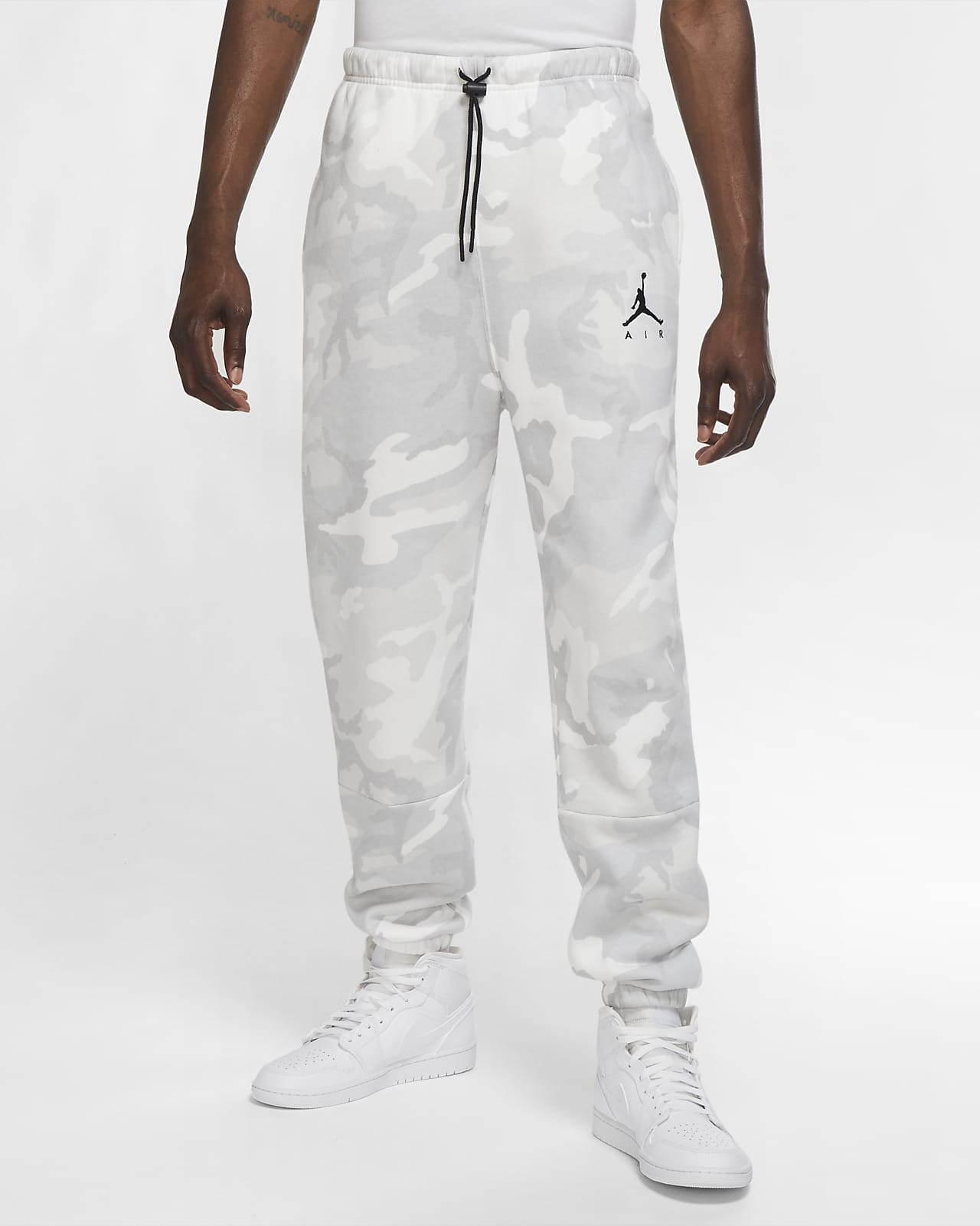 Pantaloni in fleece camo Jordan Jumpman Air - Uomo