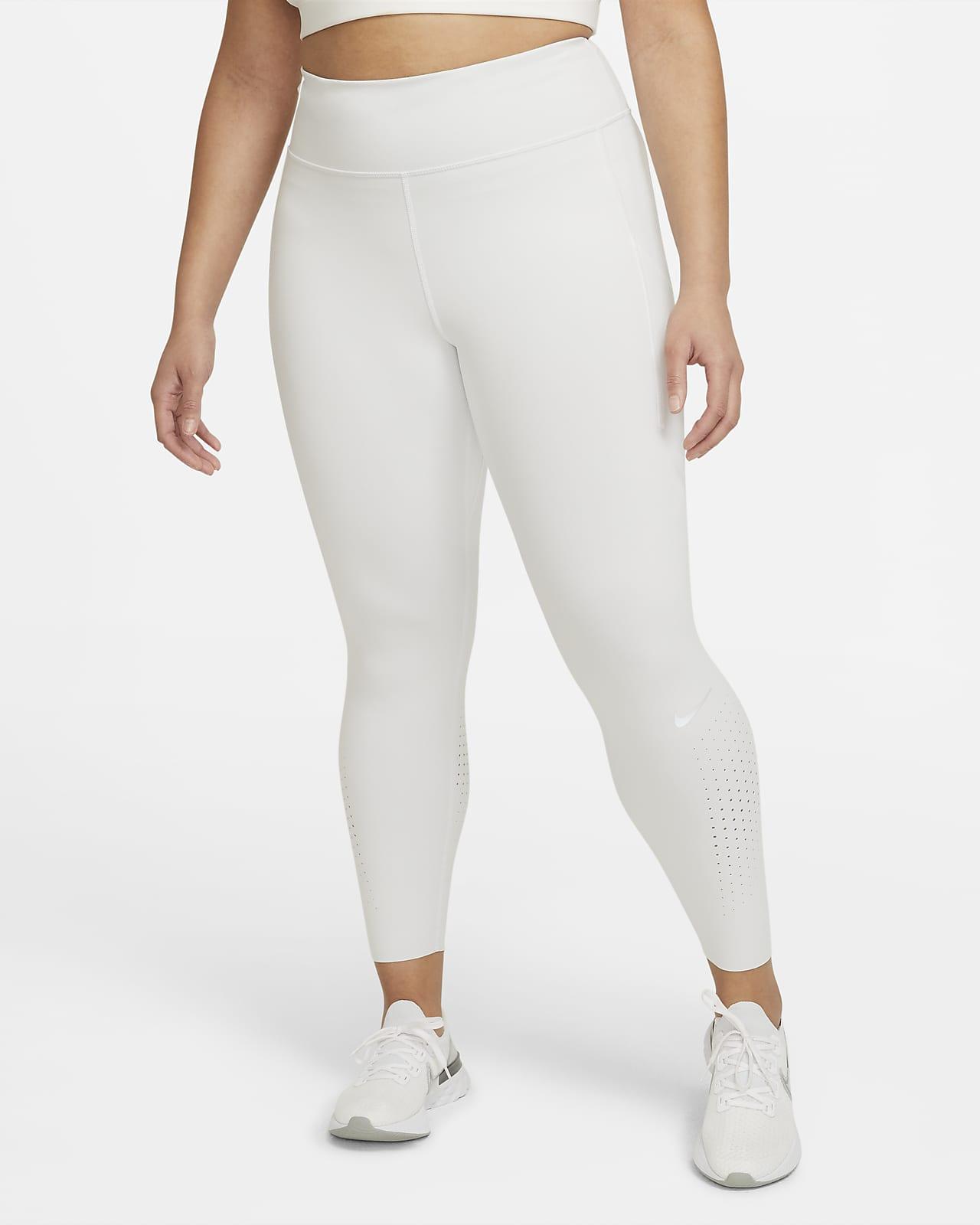 Nike Epic Luxe Women's Mid-Rise Pocket Running Leggings (Plus Size)