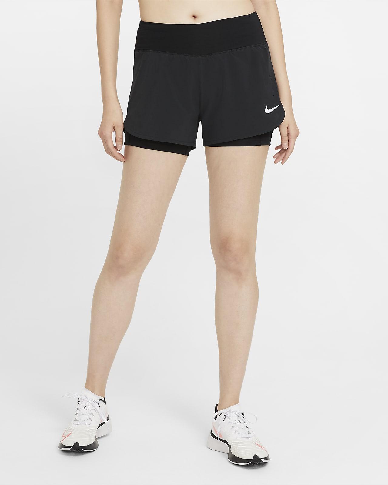 Nike Eclipse 2 az 1-ben női futórövidnadrág