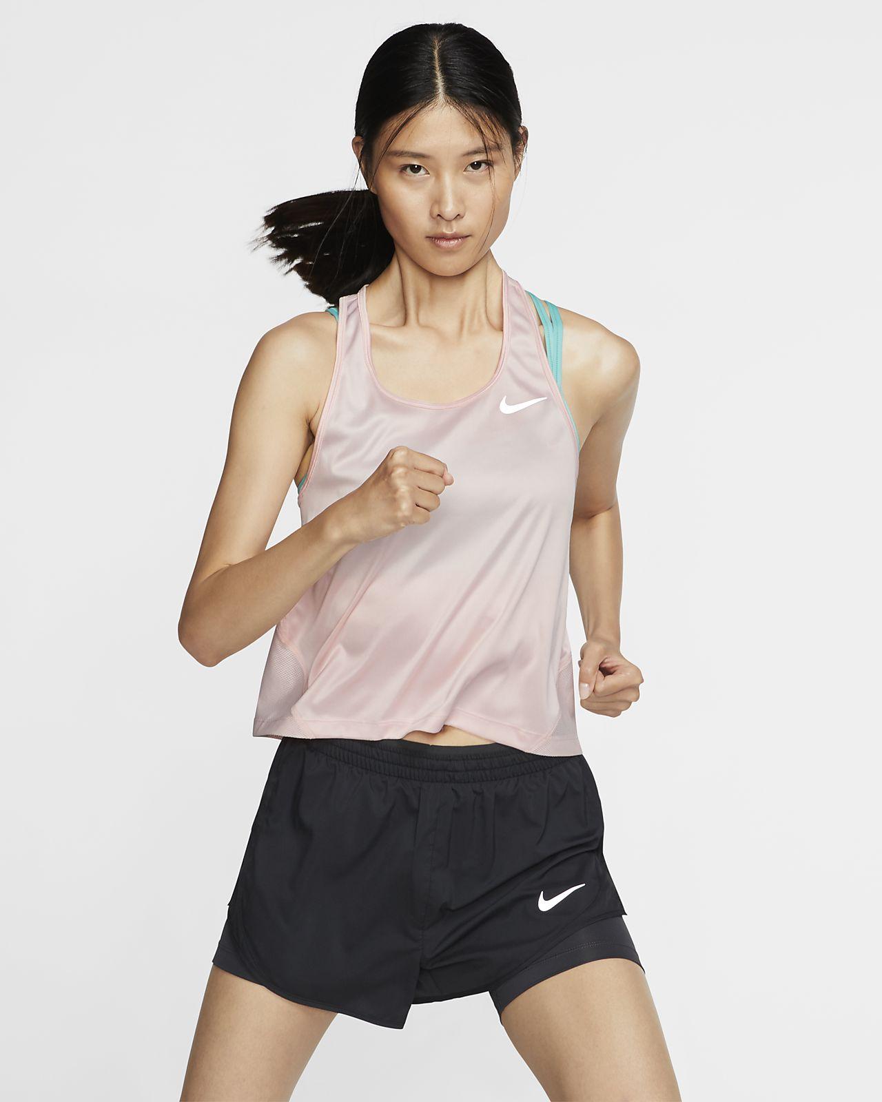 เสื้อกล้ามวิ่งผู้หญิง Nike Miler