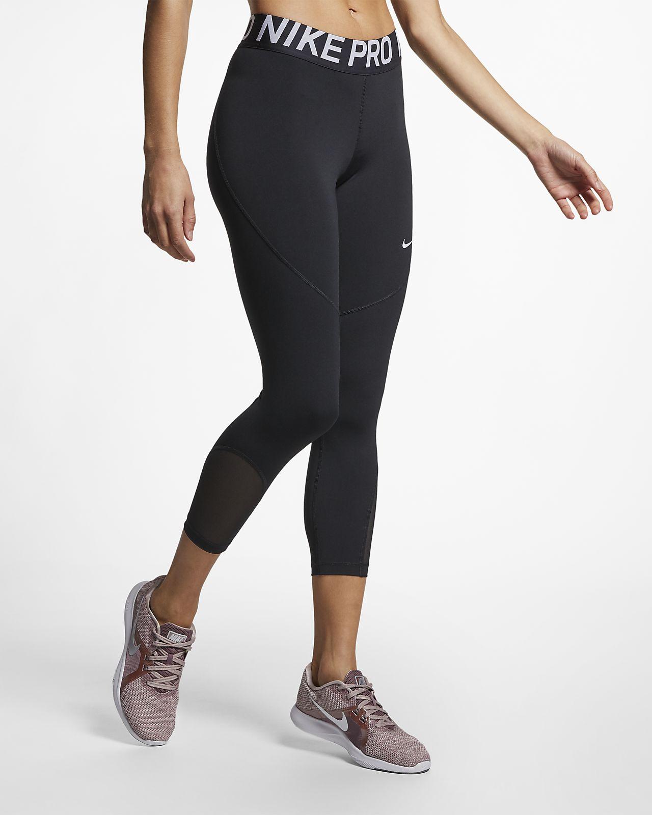 Nike Pro Malles de tres quarts - Dona