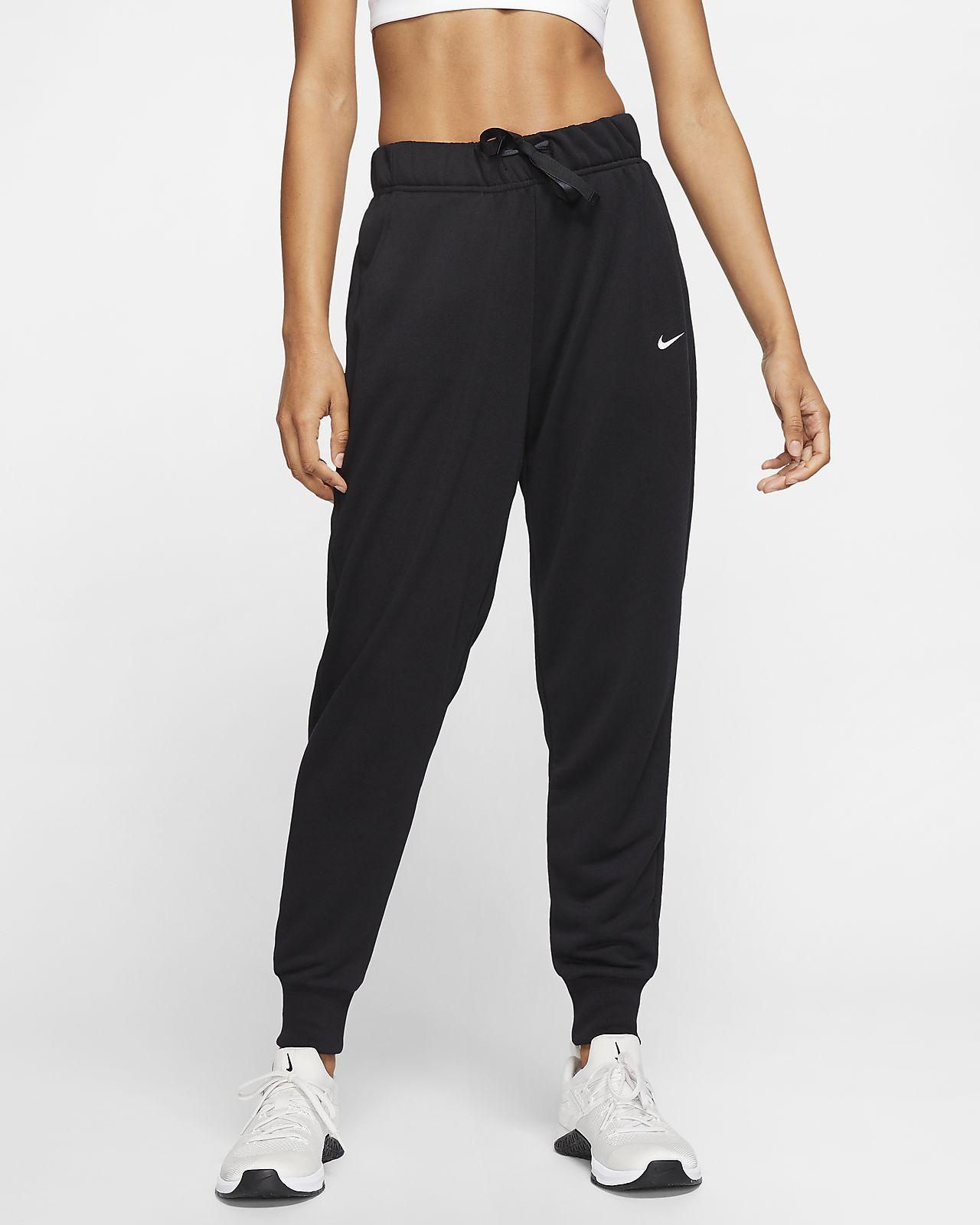 Nike Dri FIT Get Fit Trainingsbroek van fleece voor dames