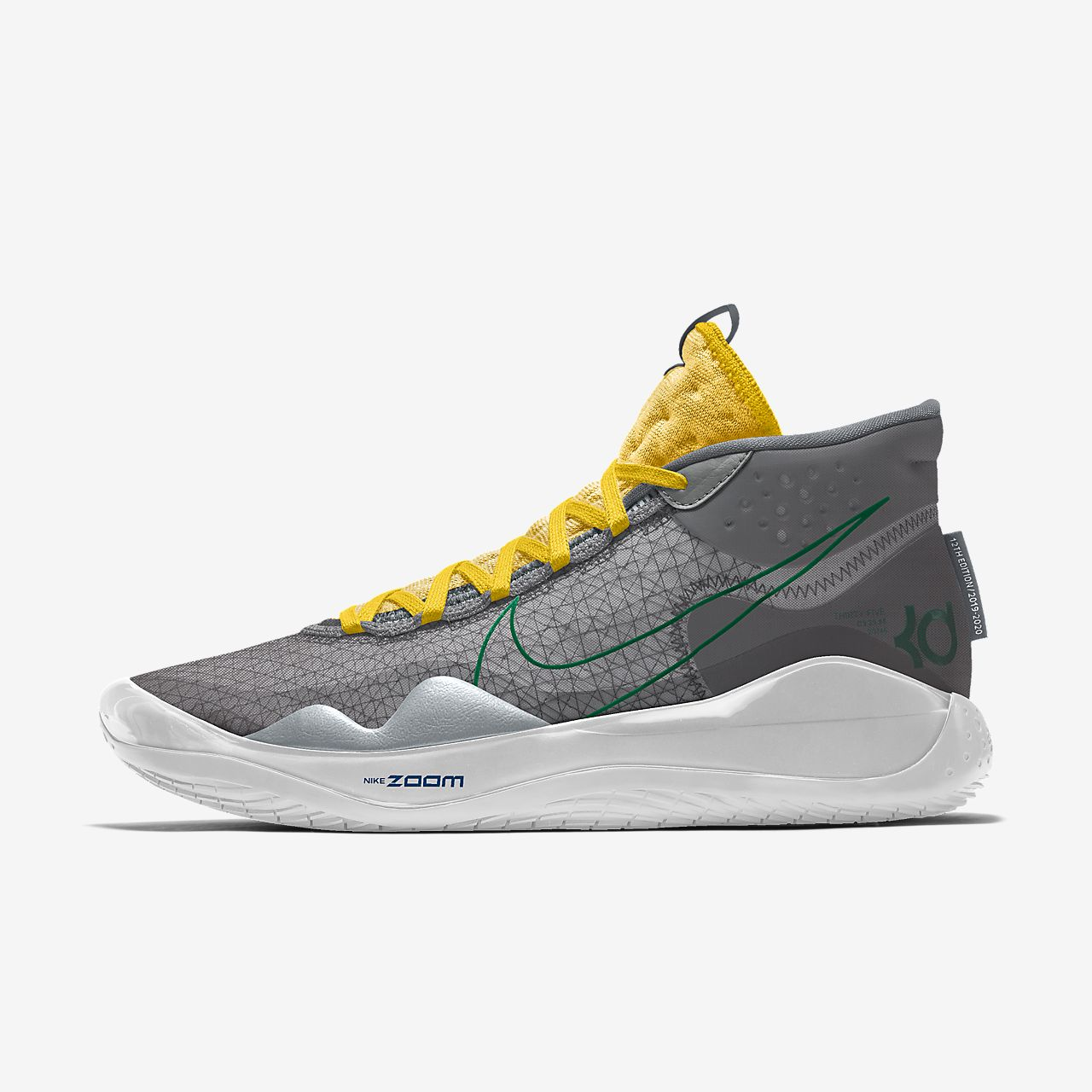 Nike Zoom KD12 By You Custom Basketball Shoe