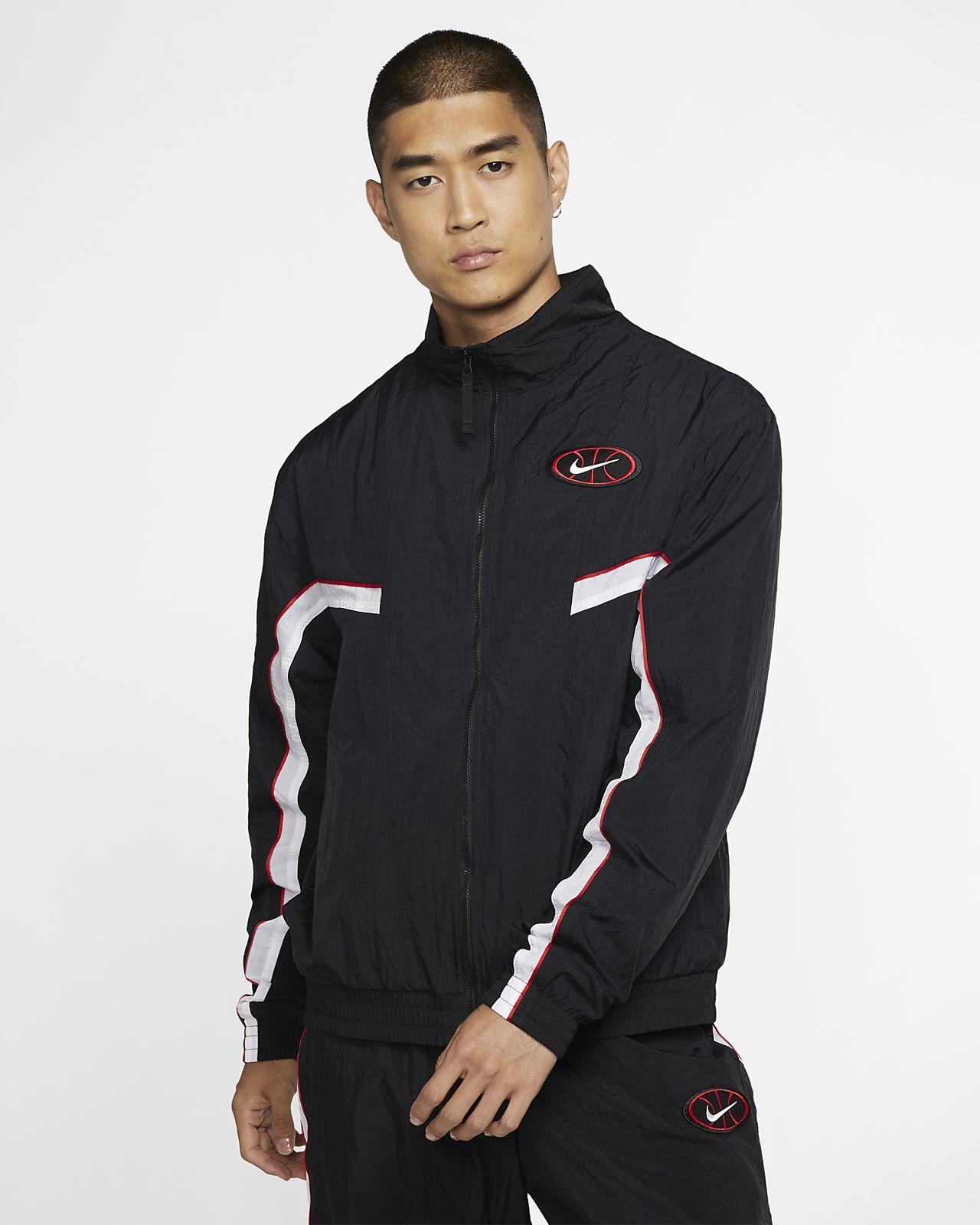 Nike Throwback Men's Woven Basketball Jacket