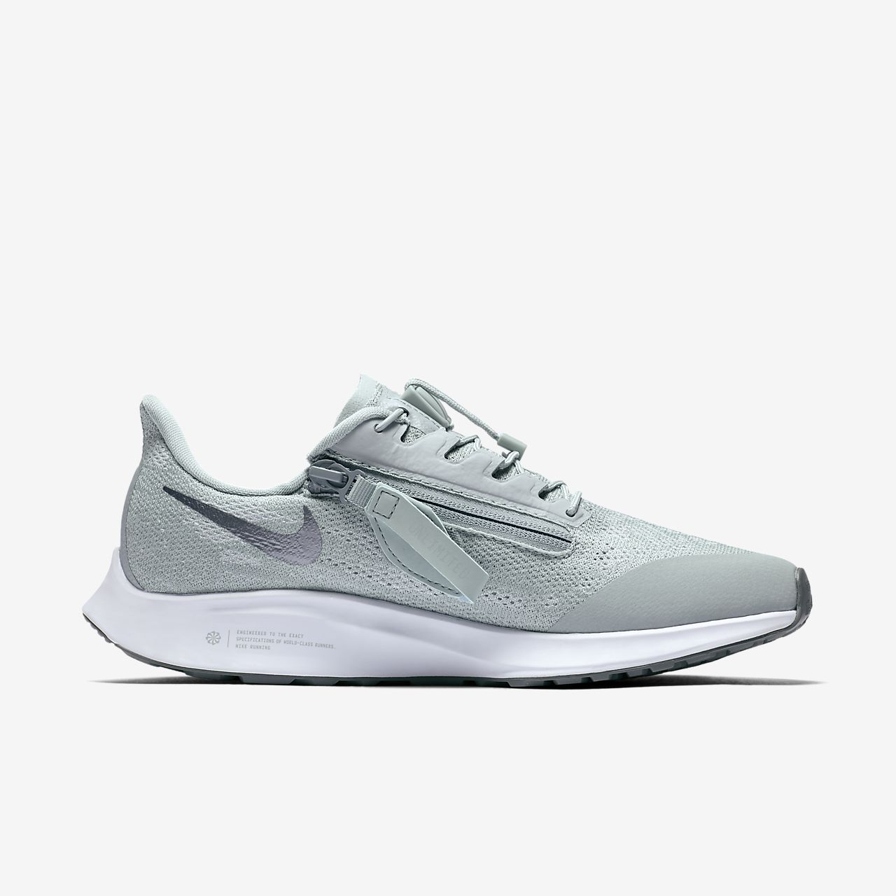 Nike Air Max 90 Premium Womens Pure PlatinumWhiteMetallic