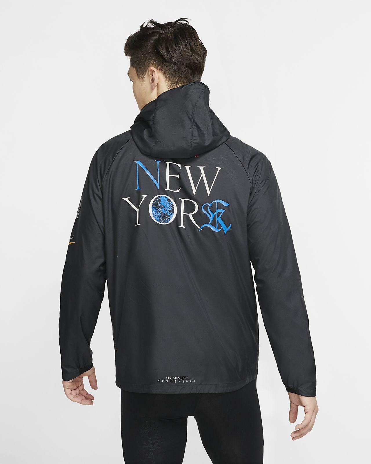 nike running jacket dri fit