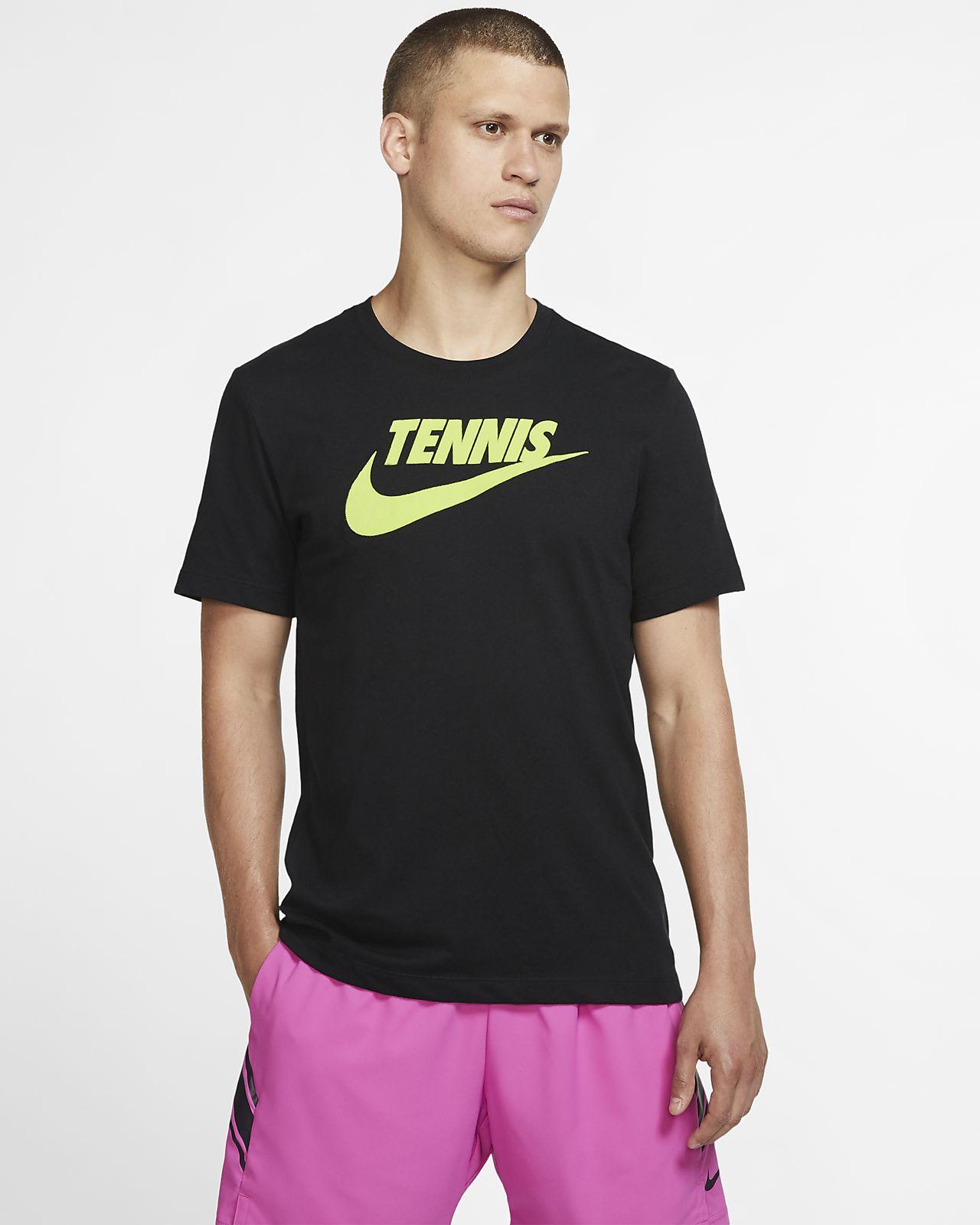 NikeCourt Dri FIT tennis T shirt med grafik til mænd