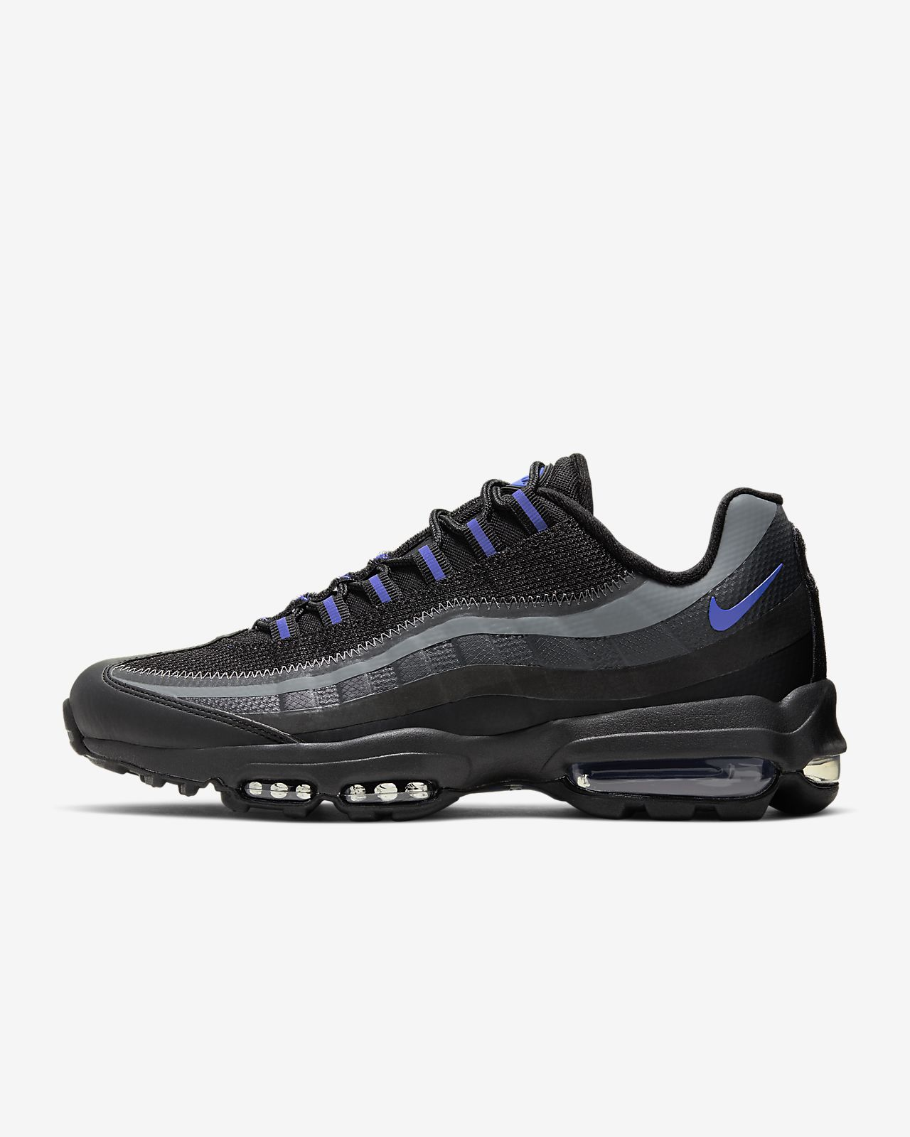 NIKE AIR MAX 95 (TRIPLE BLACK) Sneaker Freaker | Buty