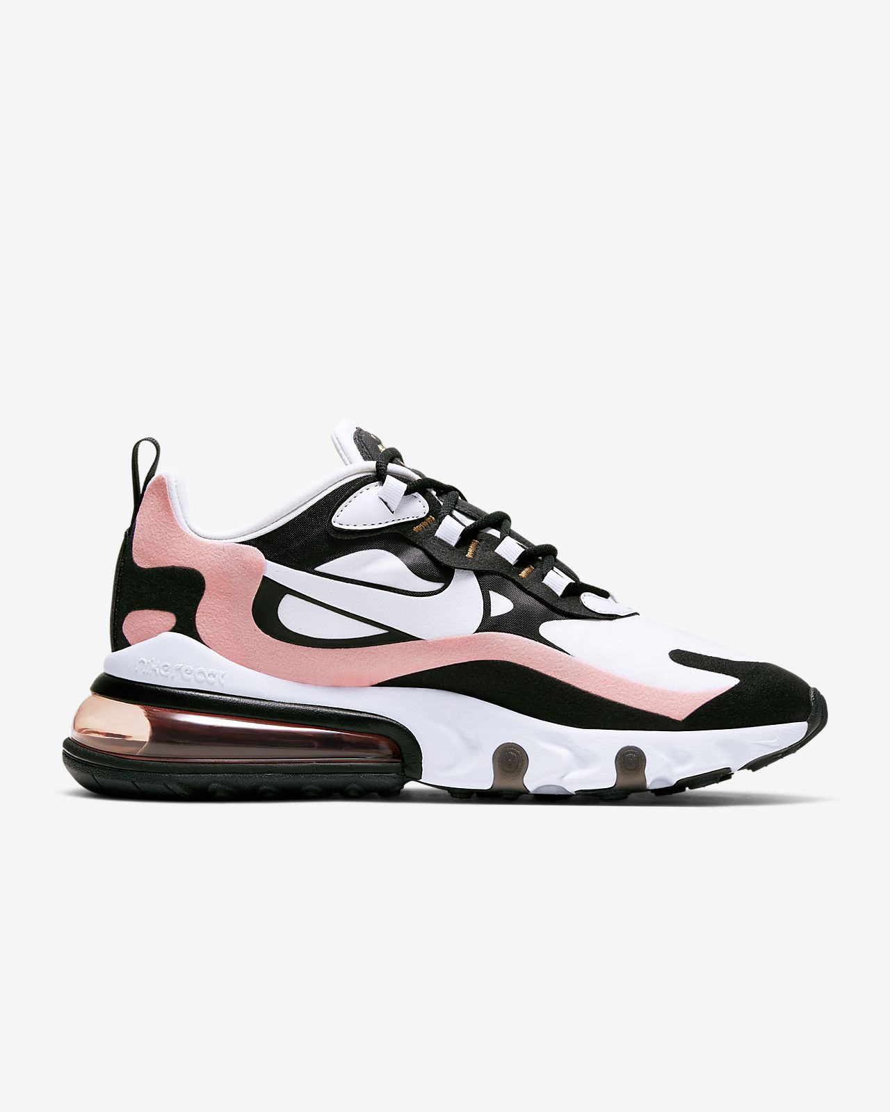 nike air max 270 react rose blanc