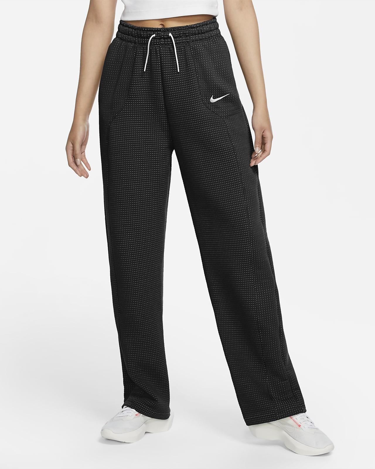 Pantalon technique en jacquard intégral Nike Sportswear Tech Fleece pour Femme