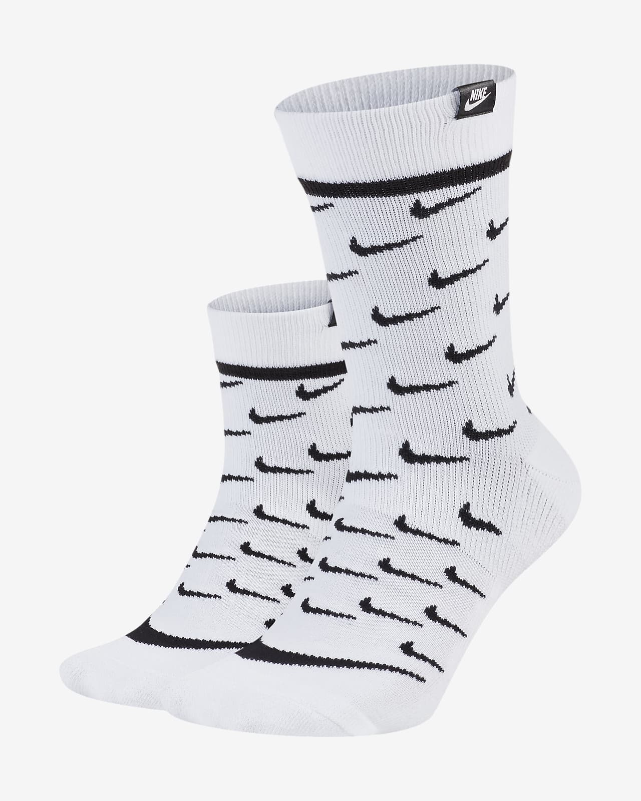 Chaussettes mi-mollet Nike Sportswear SNEAKR Sox (2 paires)