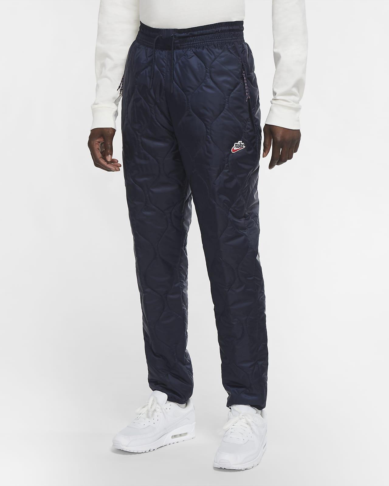 Pantalones acondicionados para el invierno para hombre Nike Sportswear Heritage