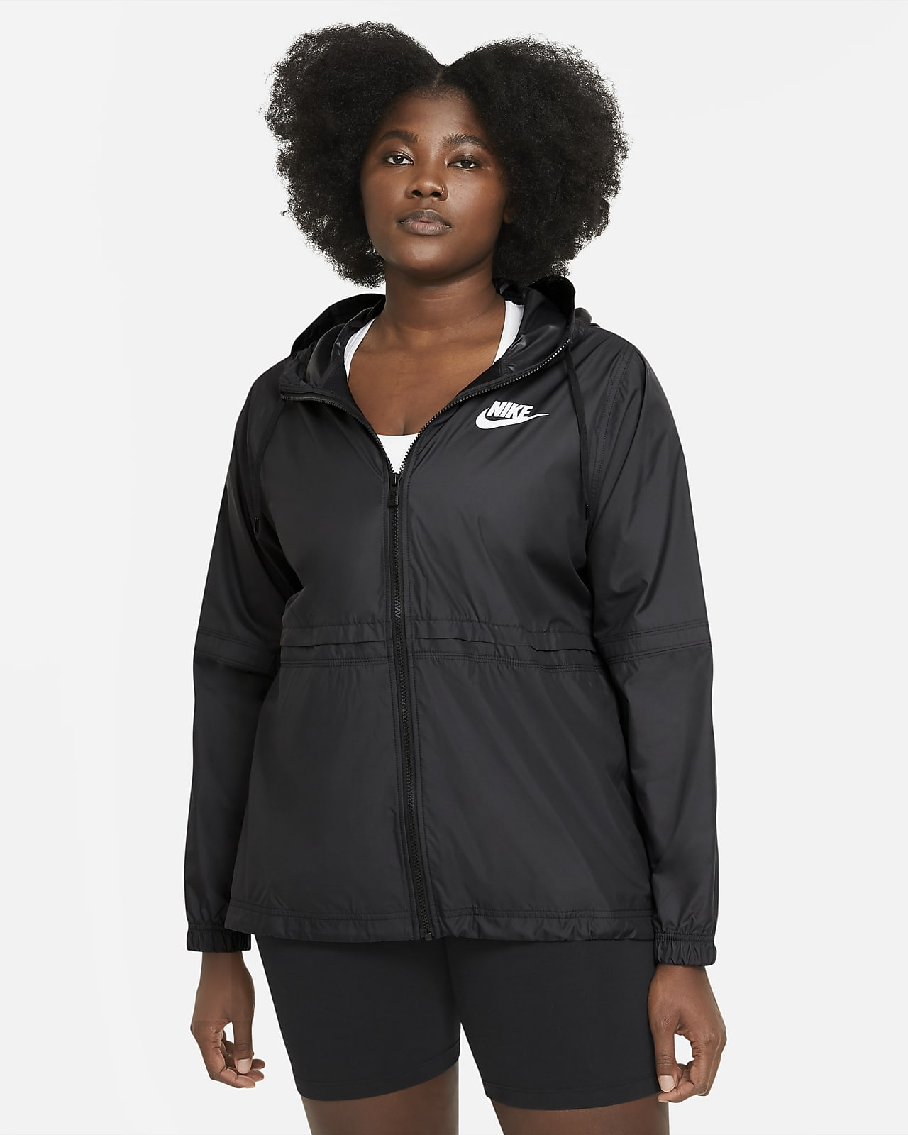 Nike Sportswear Women's Woven Jacket (Plus size)