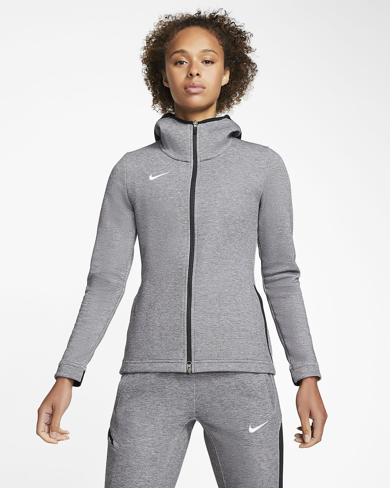 Nike Dri-FIT Showtime Women's Full-Zip Basketball Hoodie (Stock)