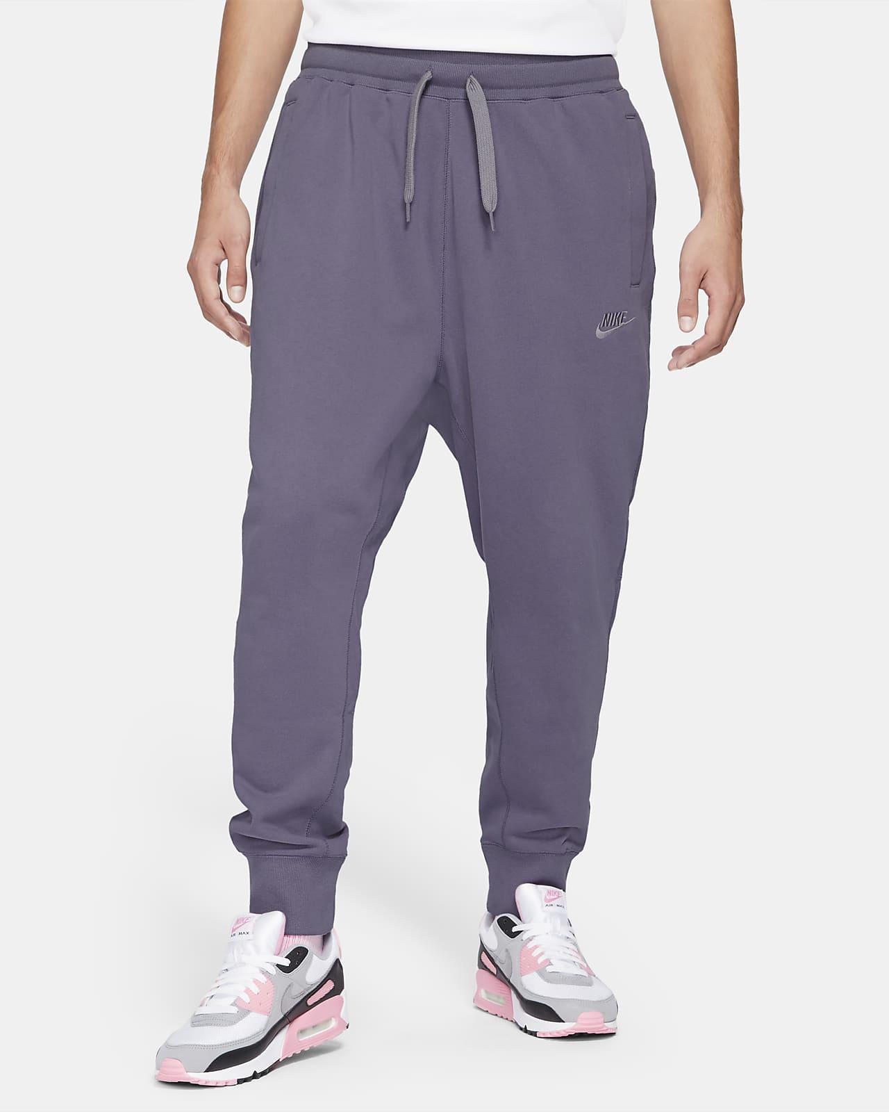 Pantalones de tejido Fleece clásico para hombre Nike Sportswear