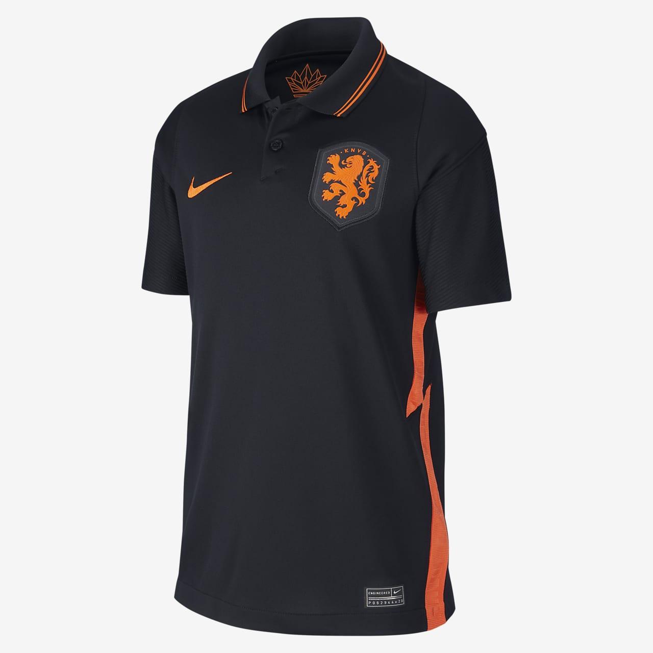 Netherlands 2020 Stadium Away Older Kids' Football Shirt