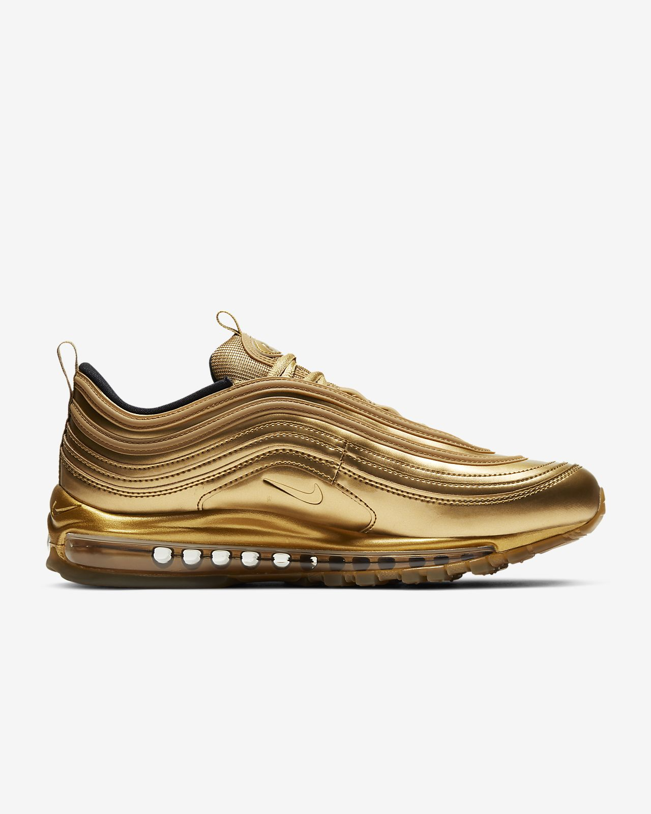 nike gold shoes
