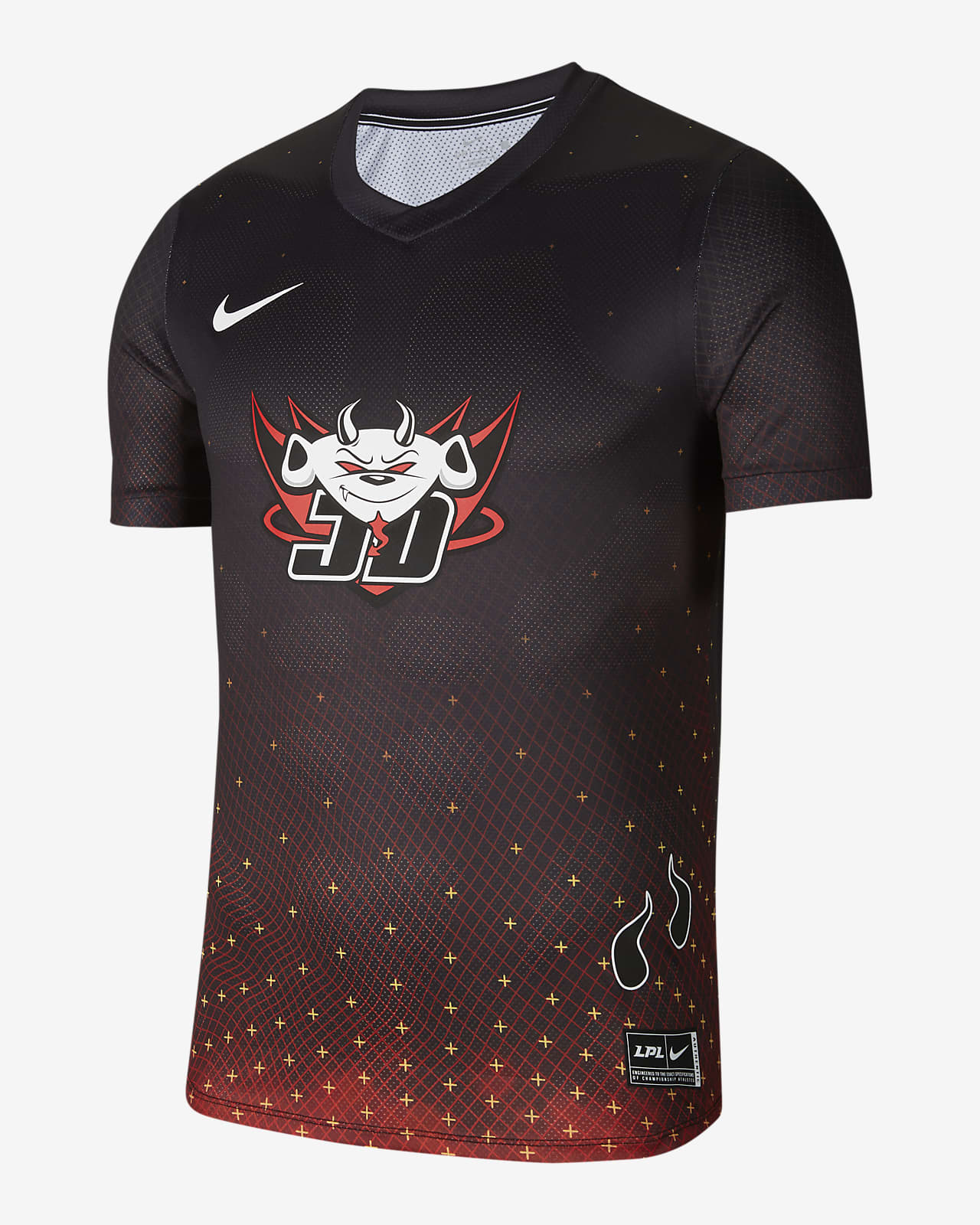 Nike x LPL JDG 男子球衣