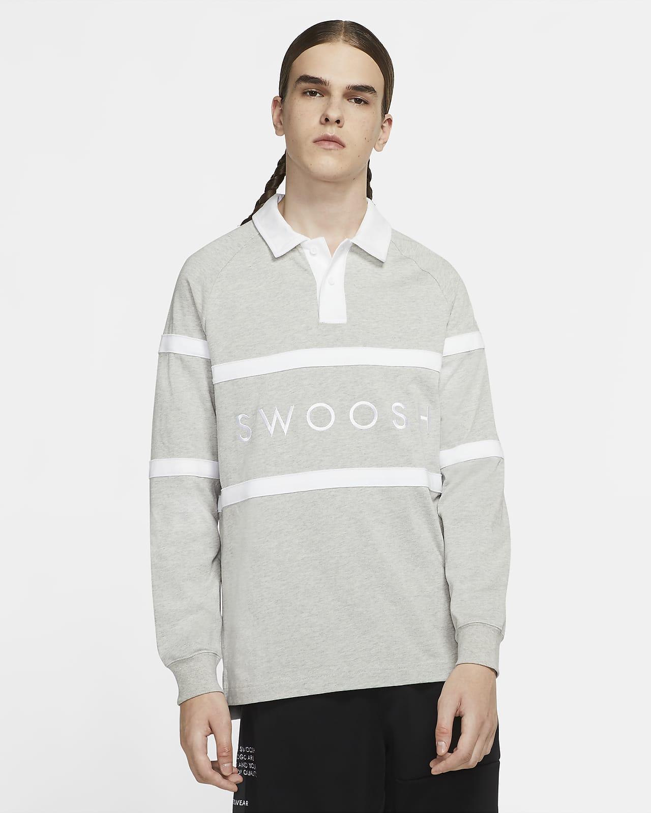 Nike Sportswear Swoosh 男子橄榄球T恤