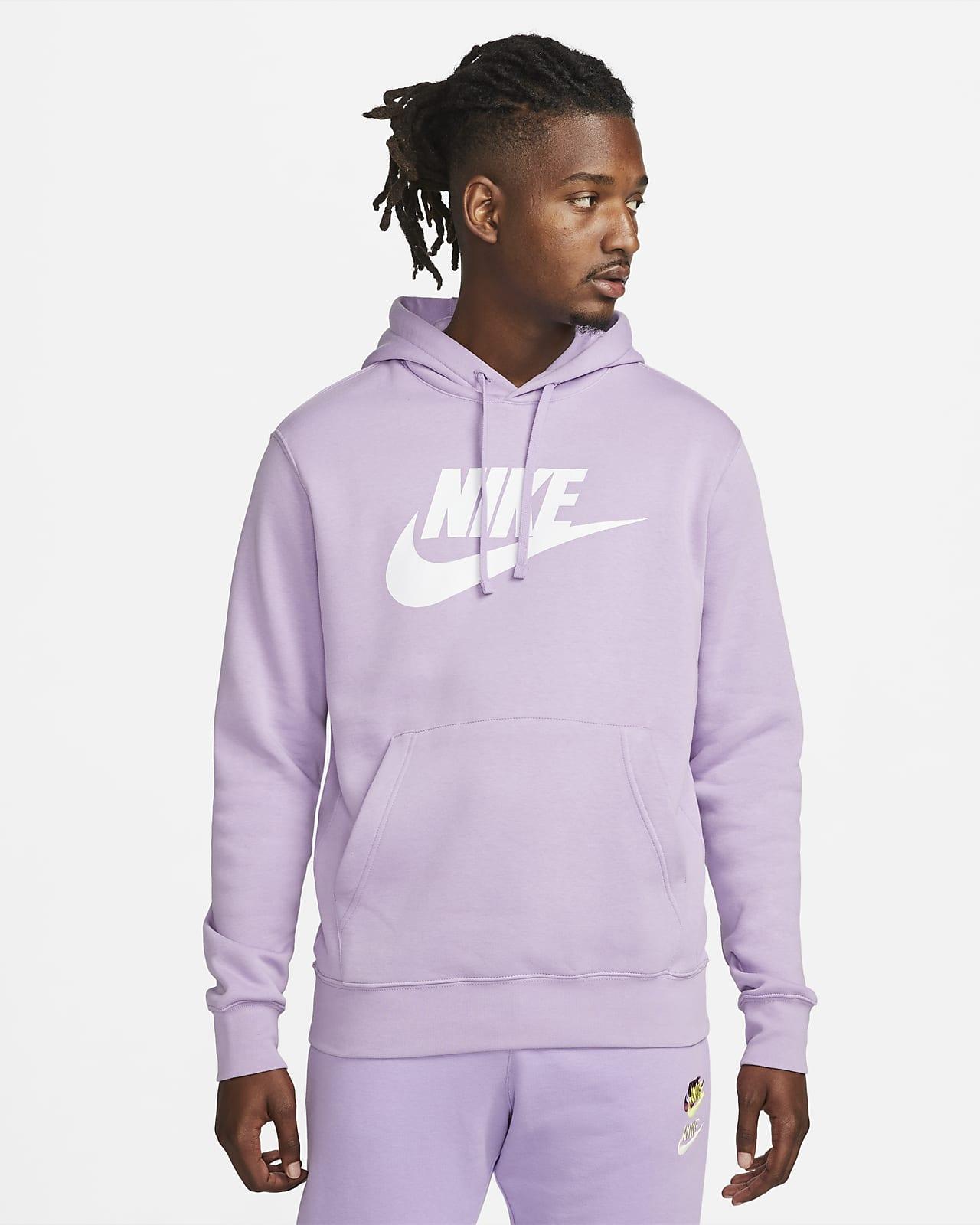 Мужская худи с графикой Nike Sportswear Club Fleece