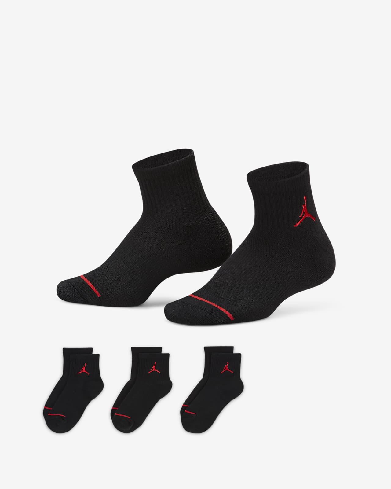 Jordan Jumpman Little Kids' Ankle Socks (3 Pairs)