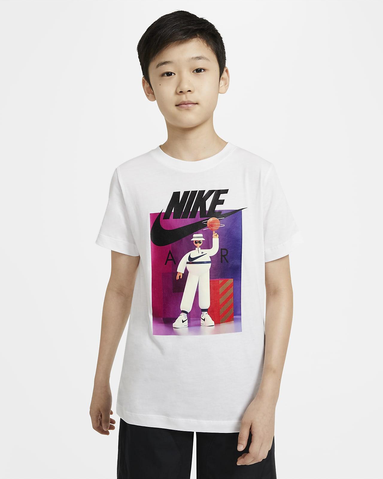 T-shirt Nike Air för ungdom (killar)