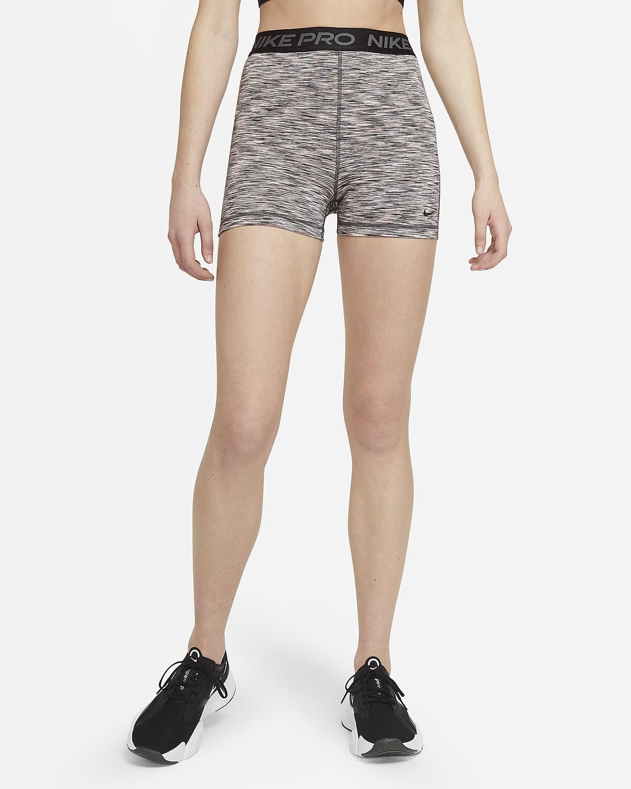Nike Pro Damenshorts mit Space-Dye (ca. 12,5 cm)