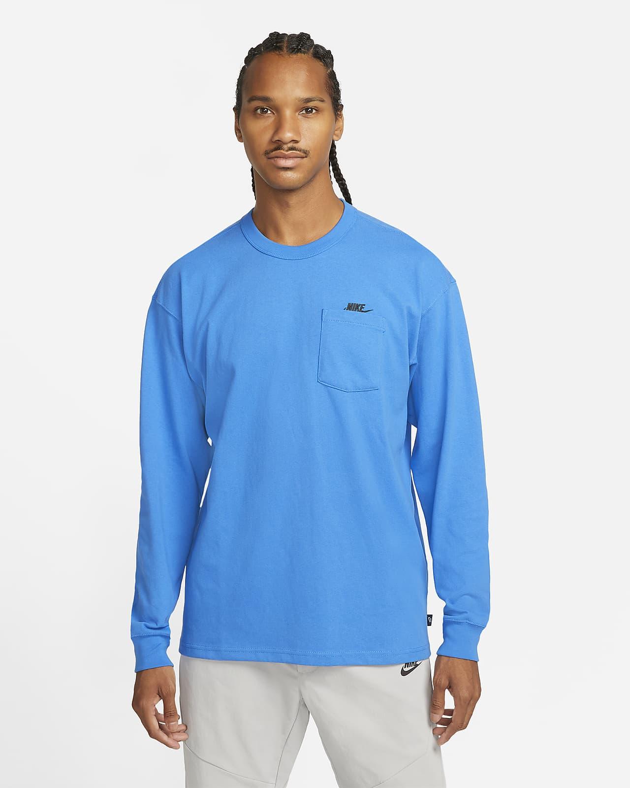 Nike Sportswear Premium Essentials Men's Long-Sleeve Pocket T-shirt