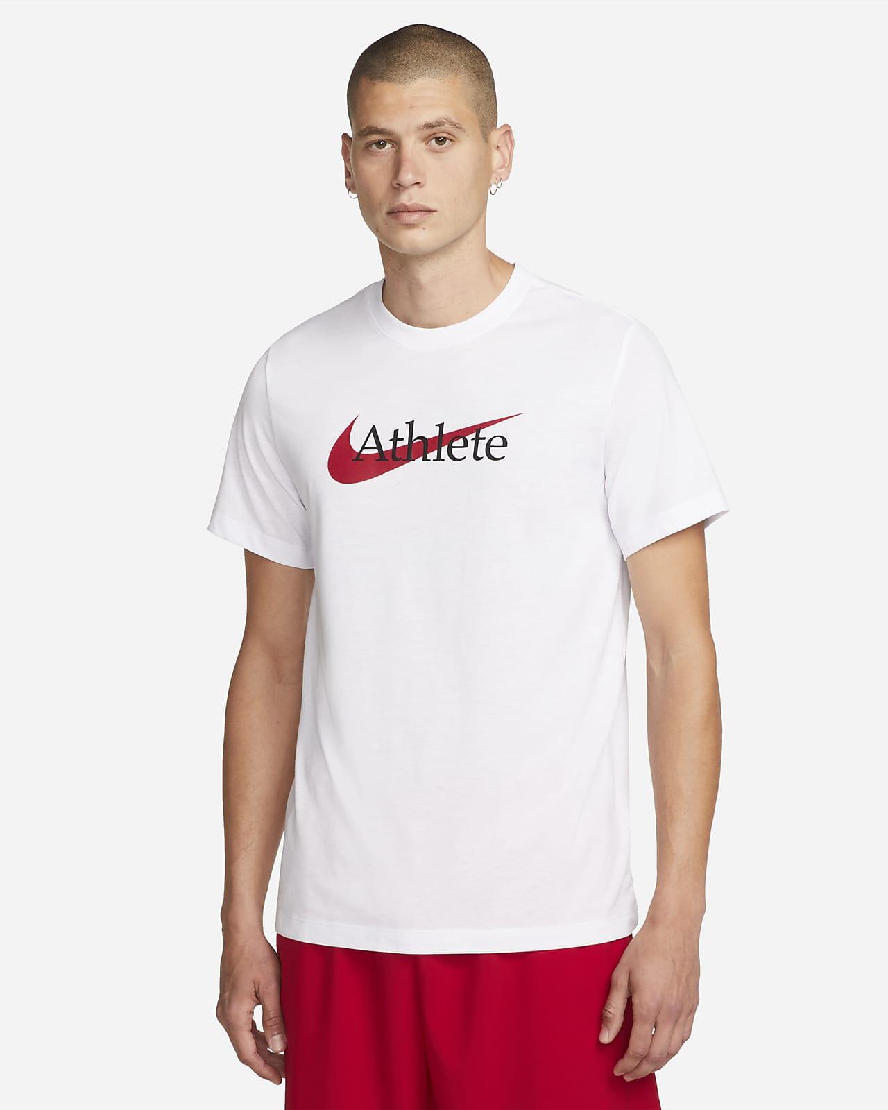 Мужская футболка для тренинга с логотипом Swoosh Nike Dri-FIT