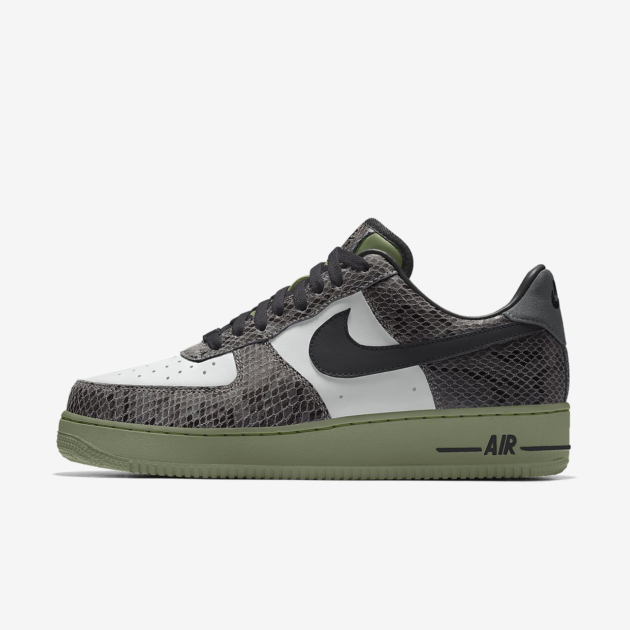 Nike Air Force 1 Low Unlocked By You Custom Men's Shoe