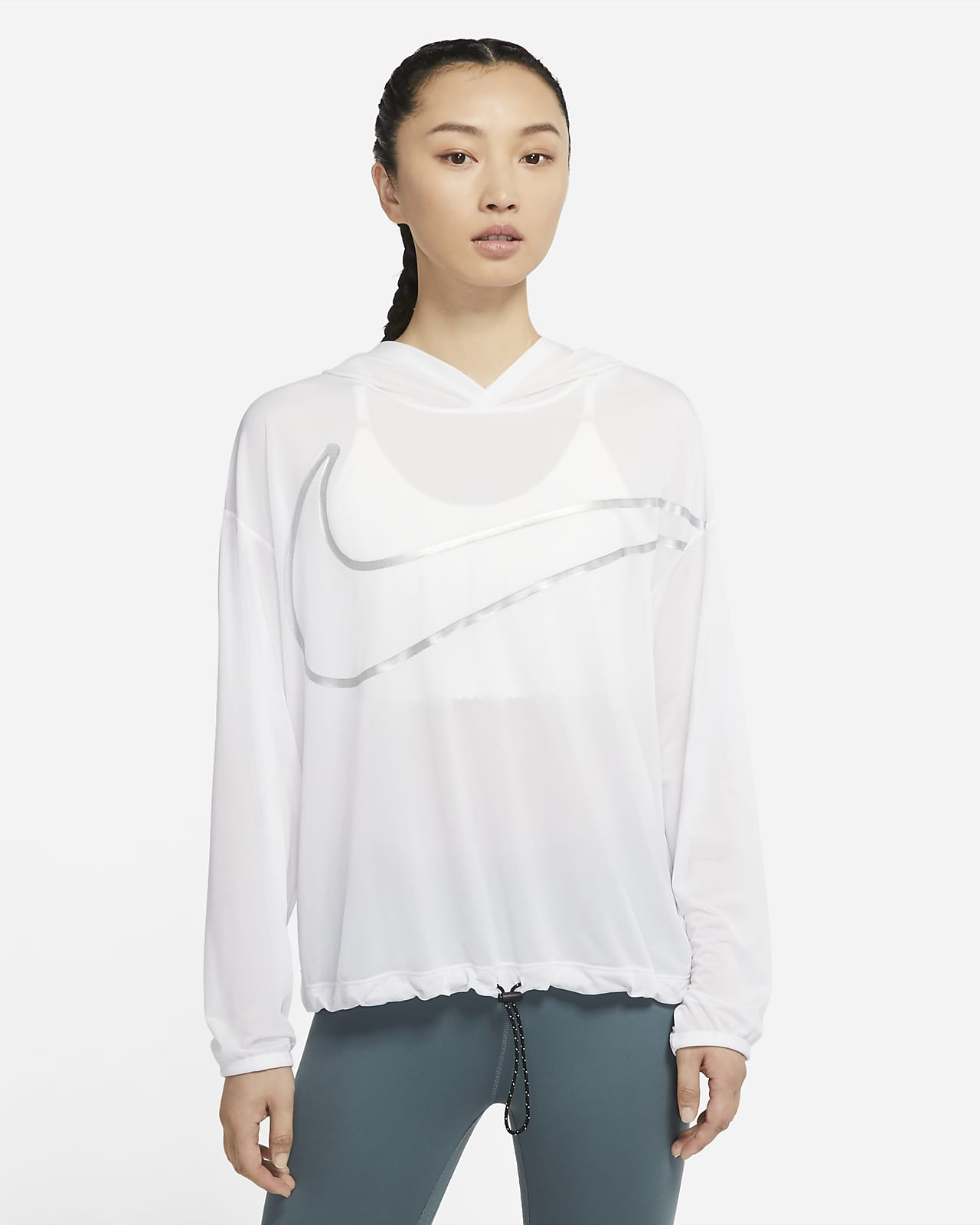 Nike Pro Collection 女子印花训练连帽衫