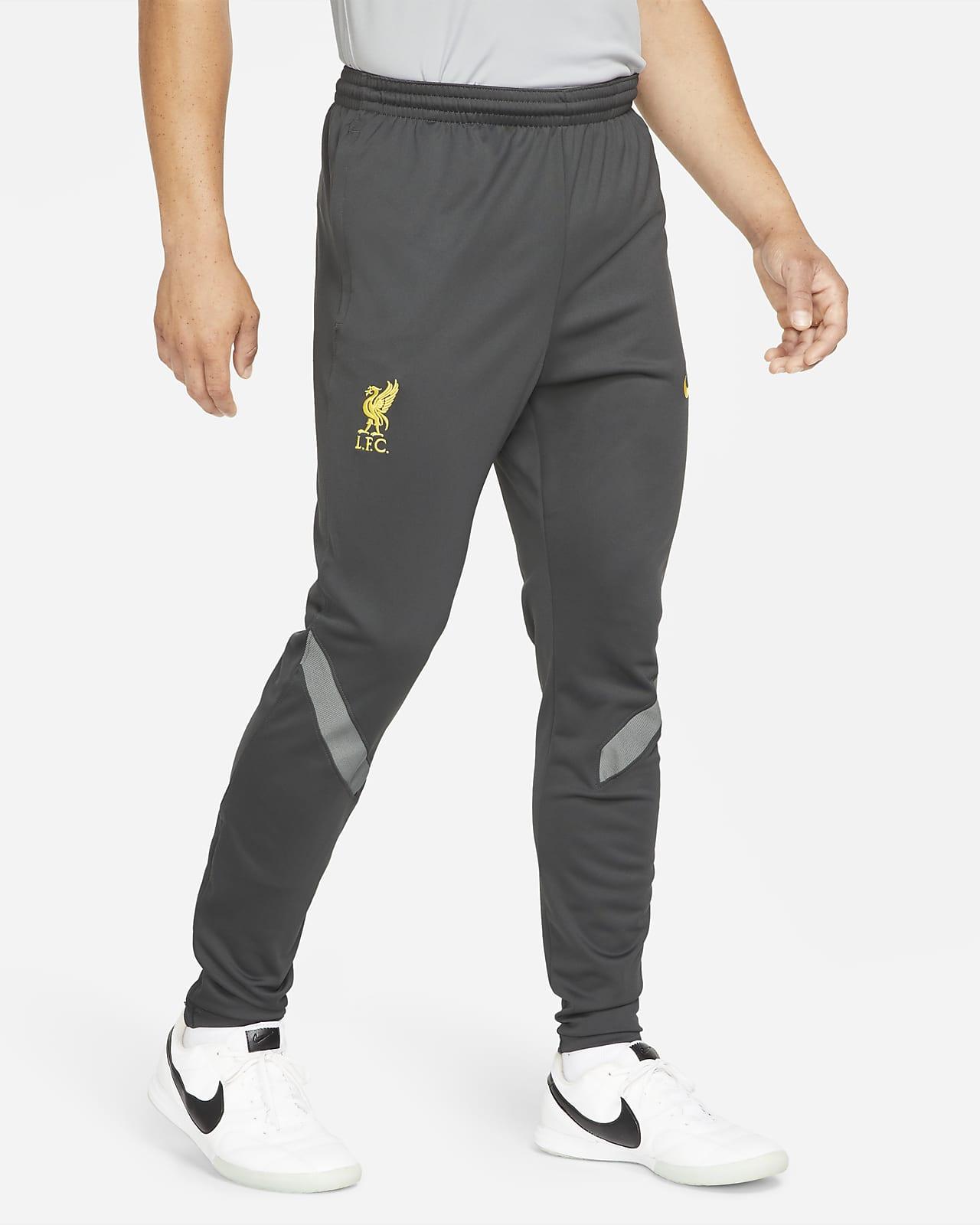 Ανδρικό πλεκτό ποδοσφαιρικό παντελόνι φόρμας Nike Dri-FIT Λίβερπουλ Strike