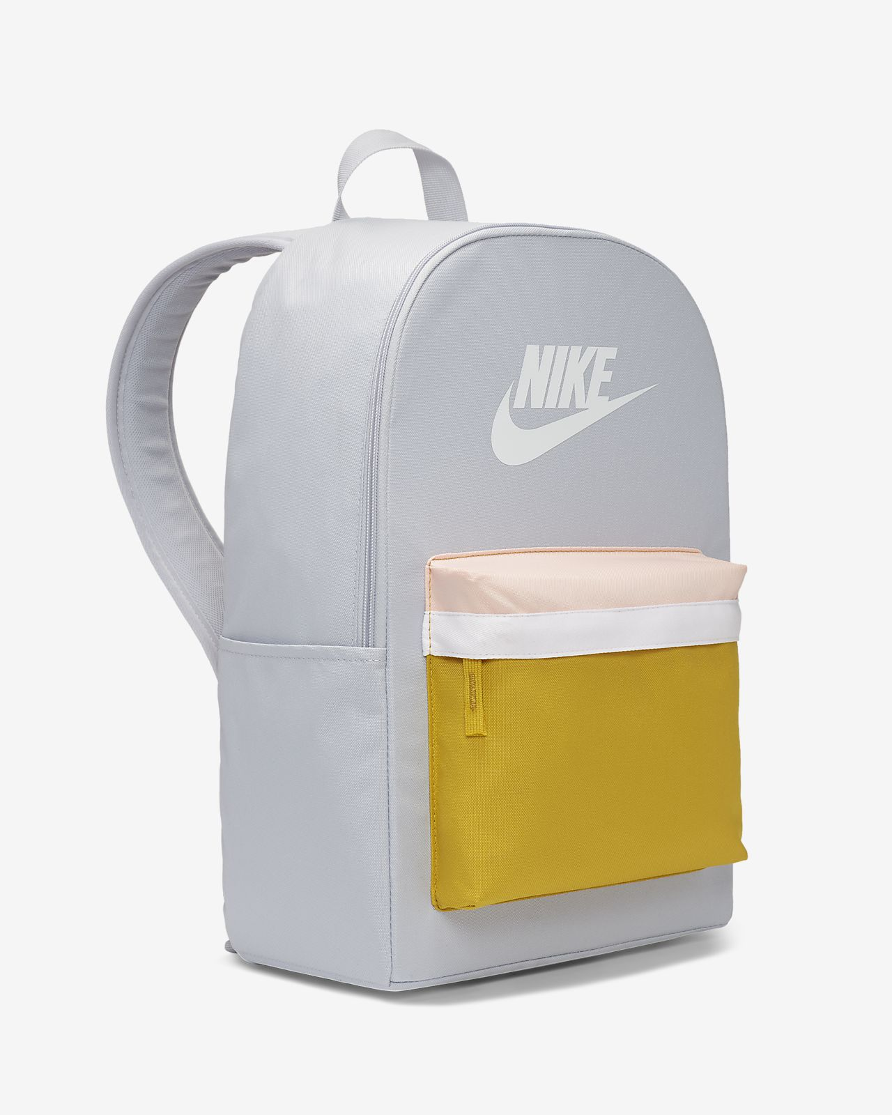 Mochila Nike Heritage 2.0 Preto e Dourado