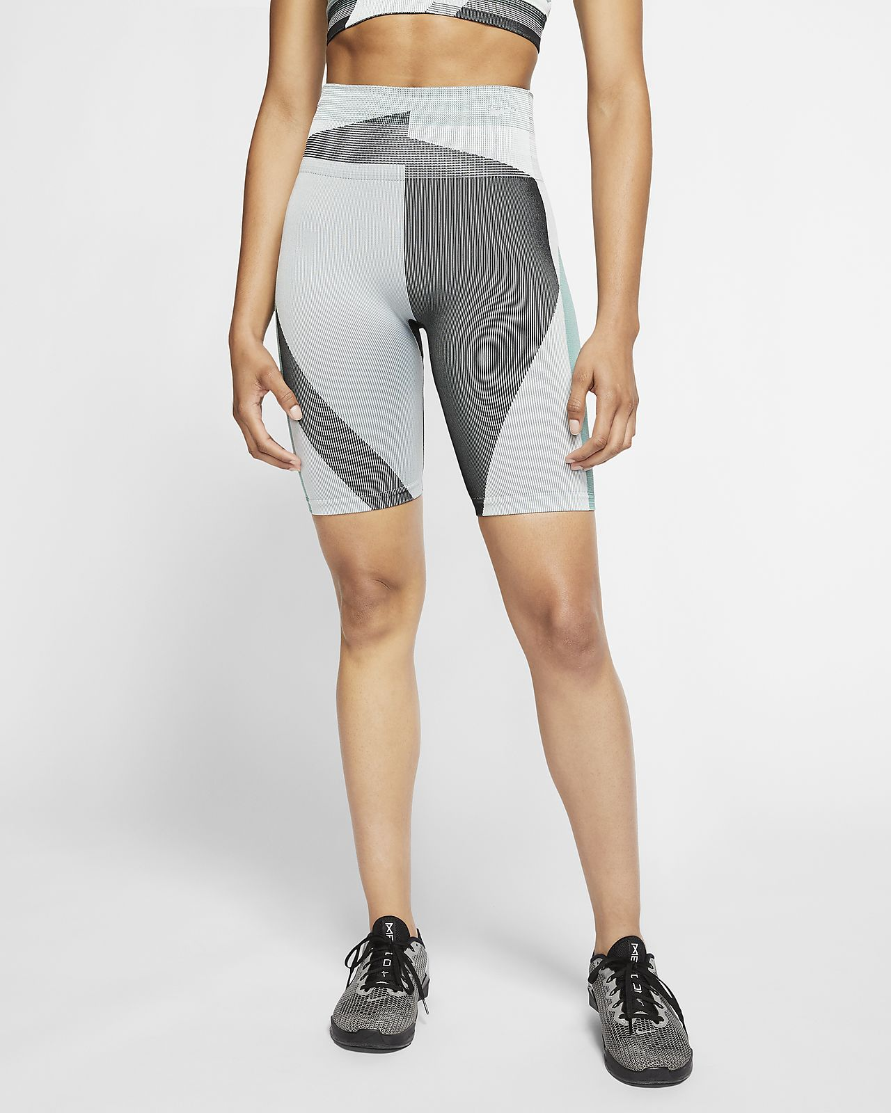 "Nike Icon Clash Women's Seamless 8"" Training Shorts"