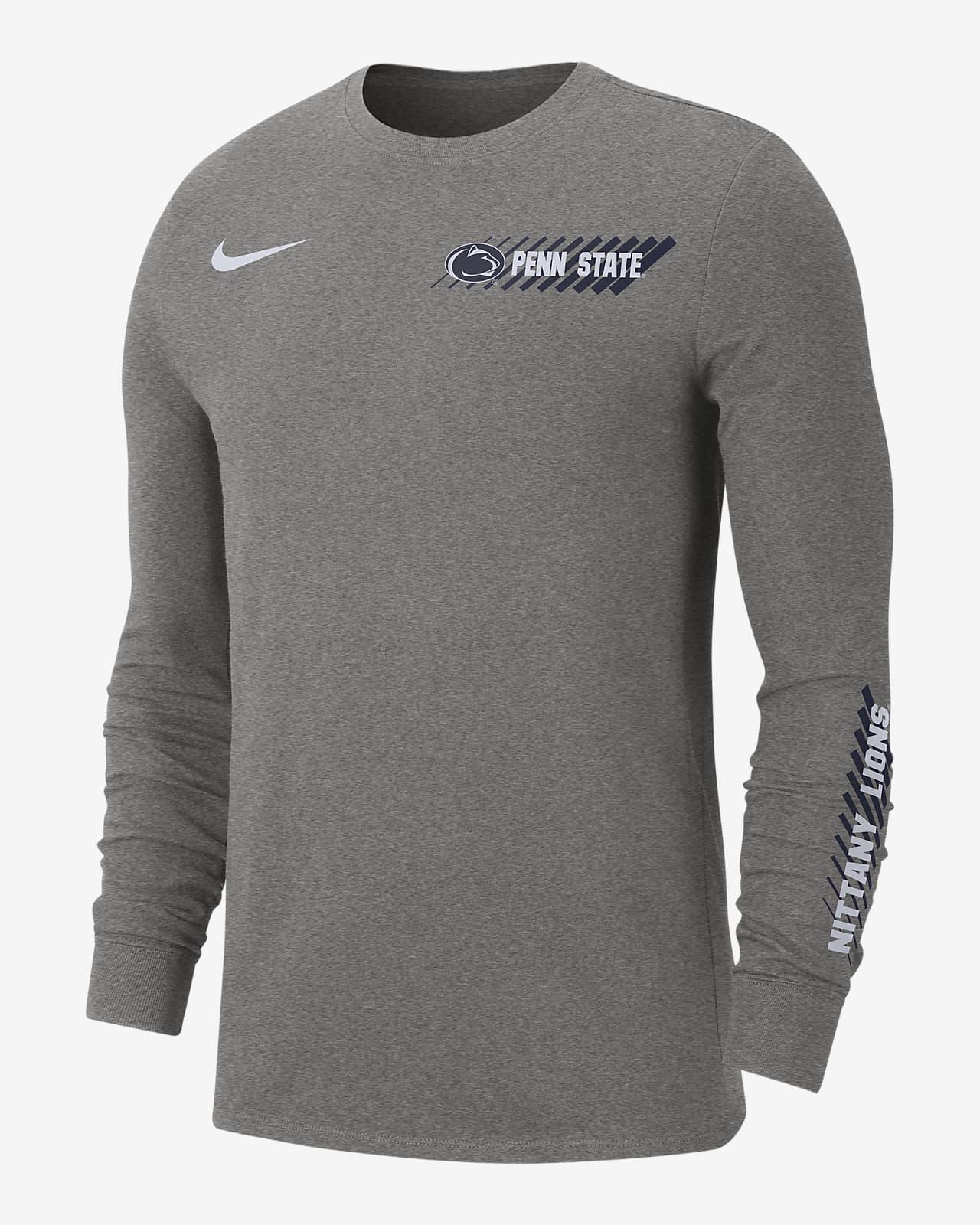 Playera con manga larga para hombre Nike College Dri-FIT (Penn State)