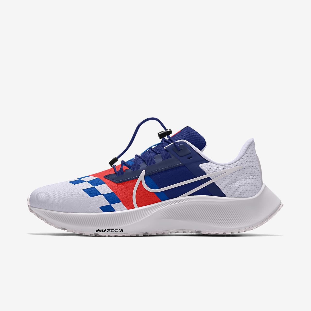 Specialdesignad löparsko Nike Air Zoom Pegasus 38 By You för kvinnor