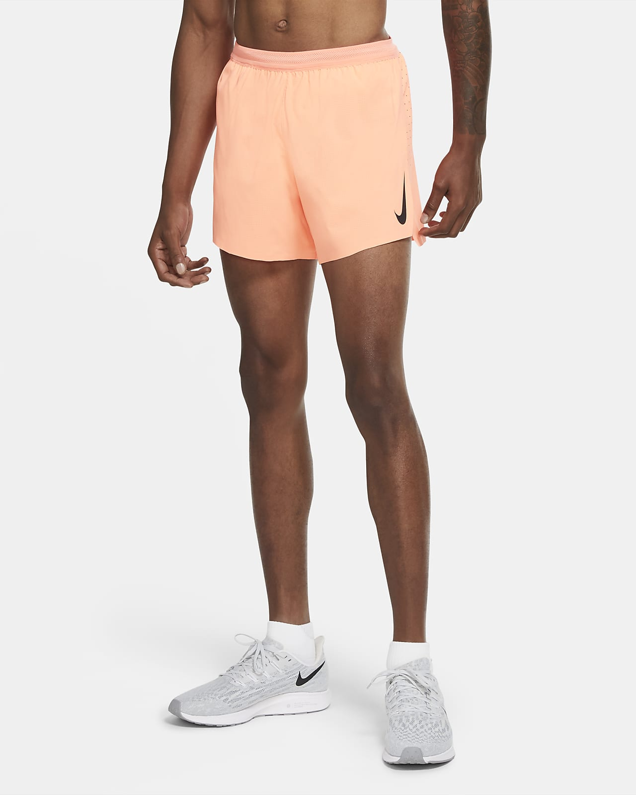 Nike AeroSwift Hardloopshorts van 10 cm voor heren