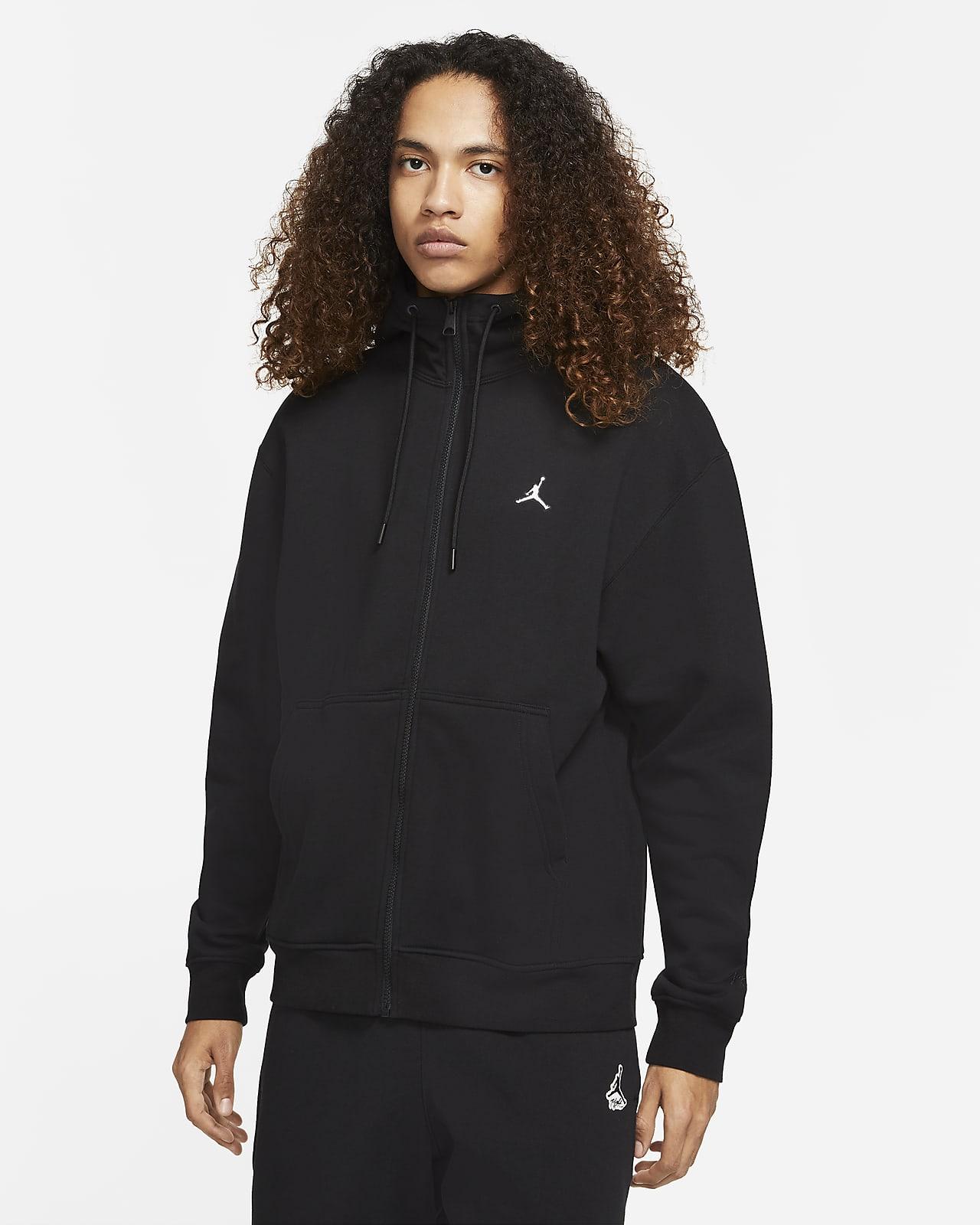Jordan Essential Fleece-Hoodie für Herren mit durchgehendem Reißverschluss